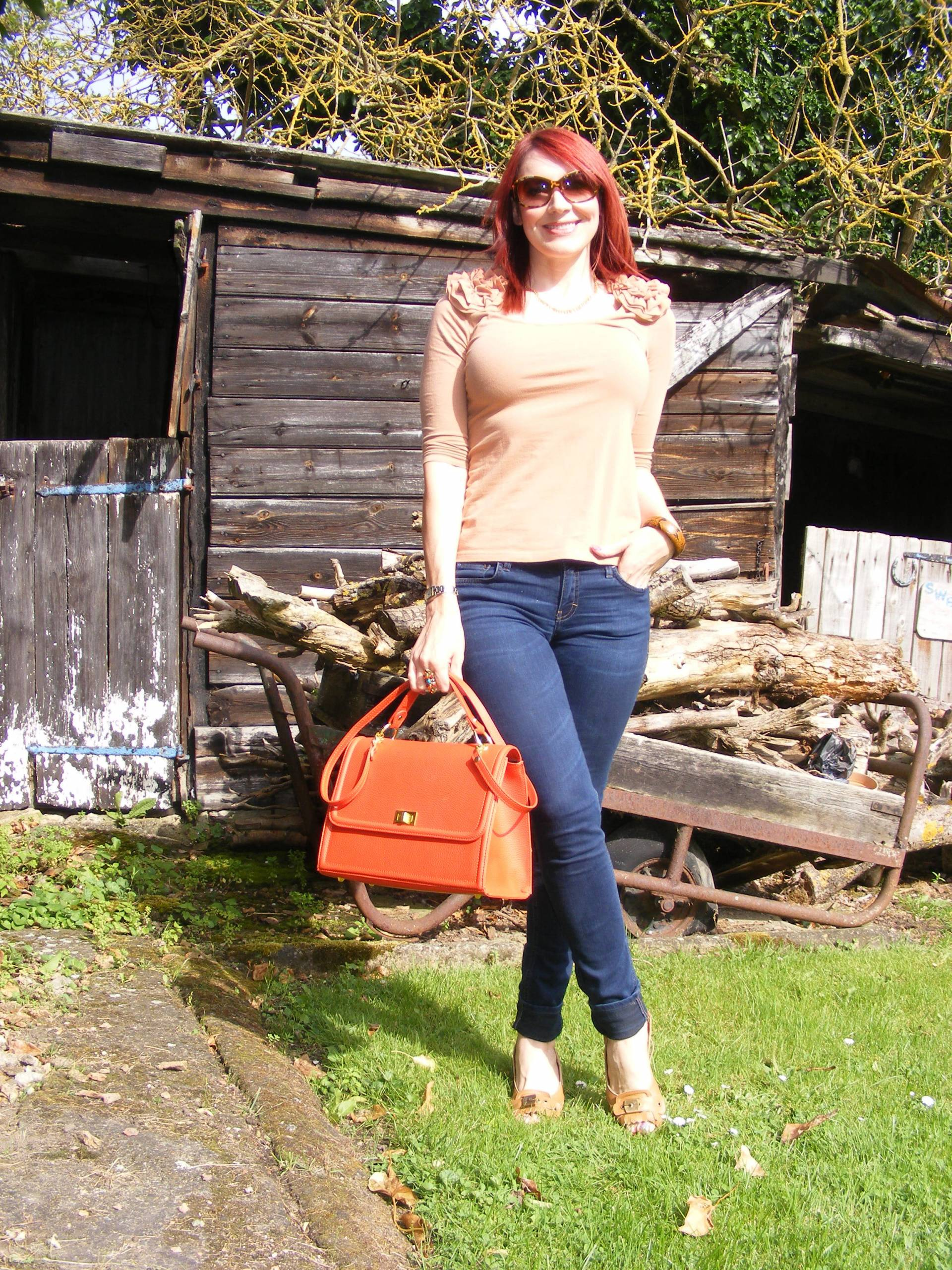 Autumn Ruffles | Shades of Orange and Terracotta