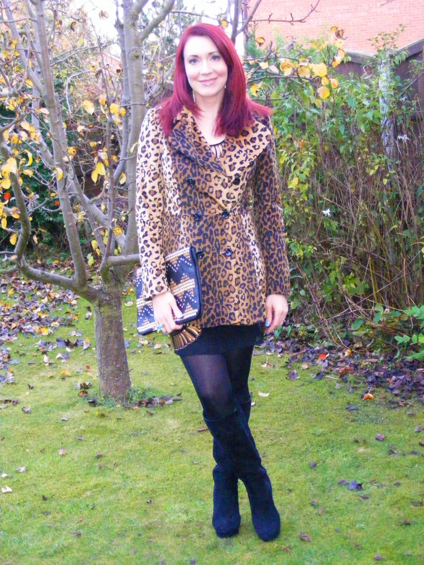 Leopard Print, Spikes and Studs