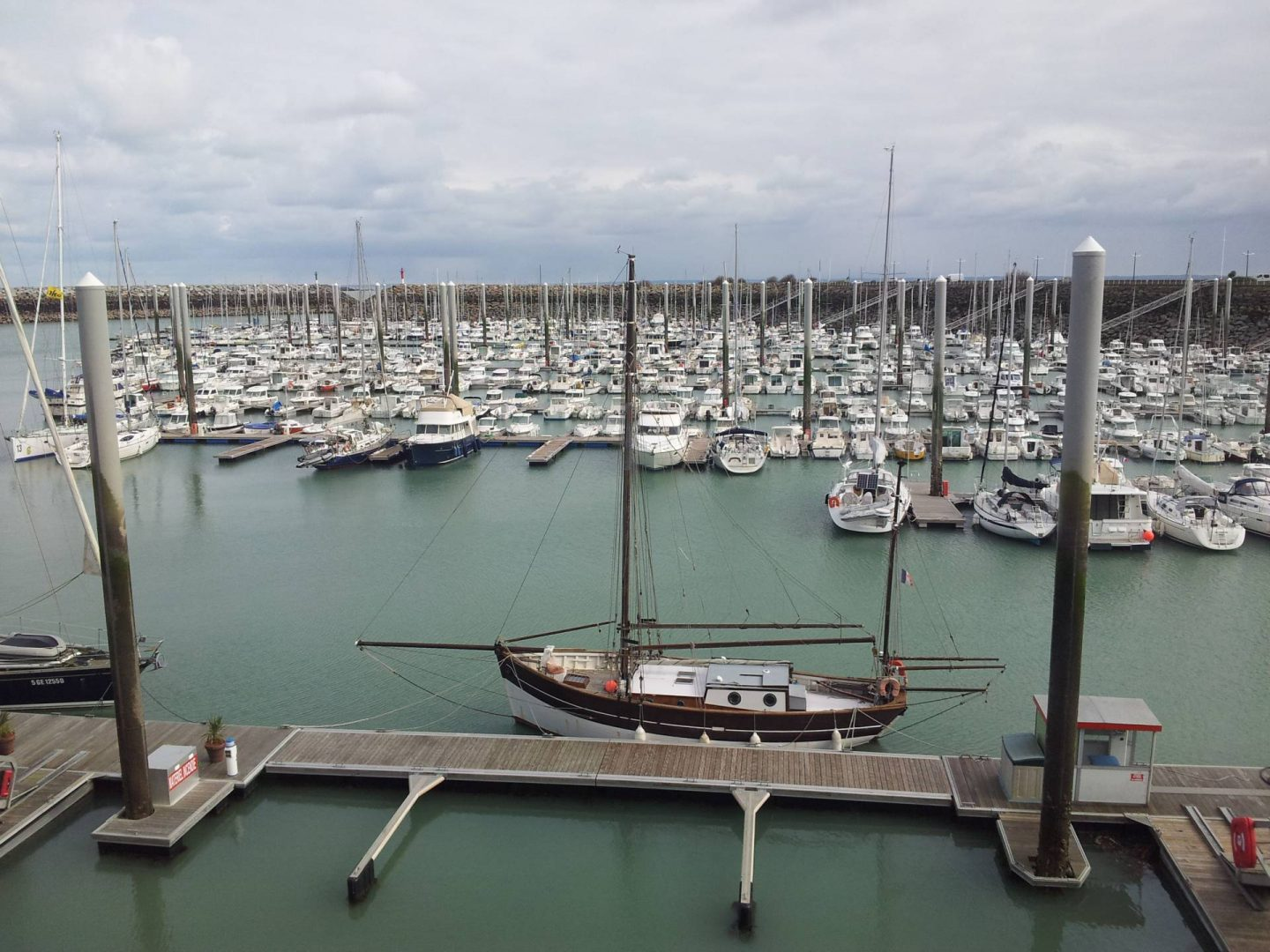 Spring Break in Brittany, Boats at St Quay