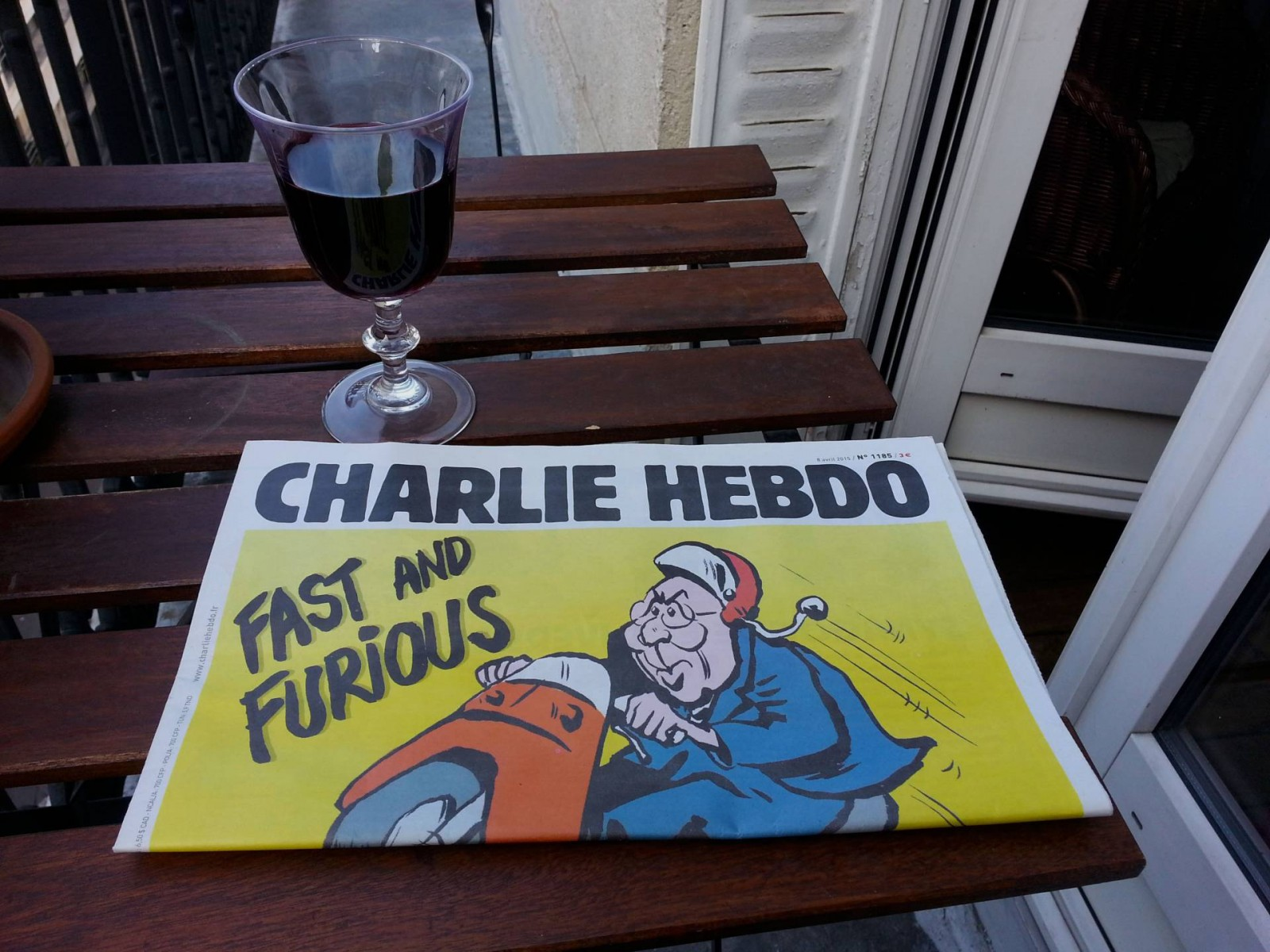 Charlie Hebdo April 2015