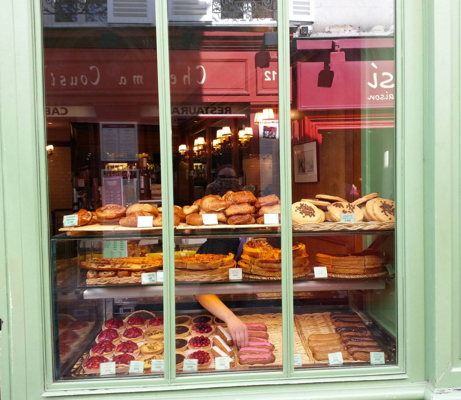 Paris Montmartre patisserie window