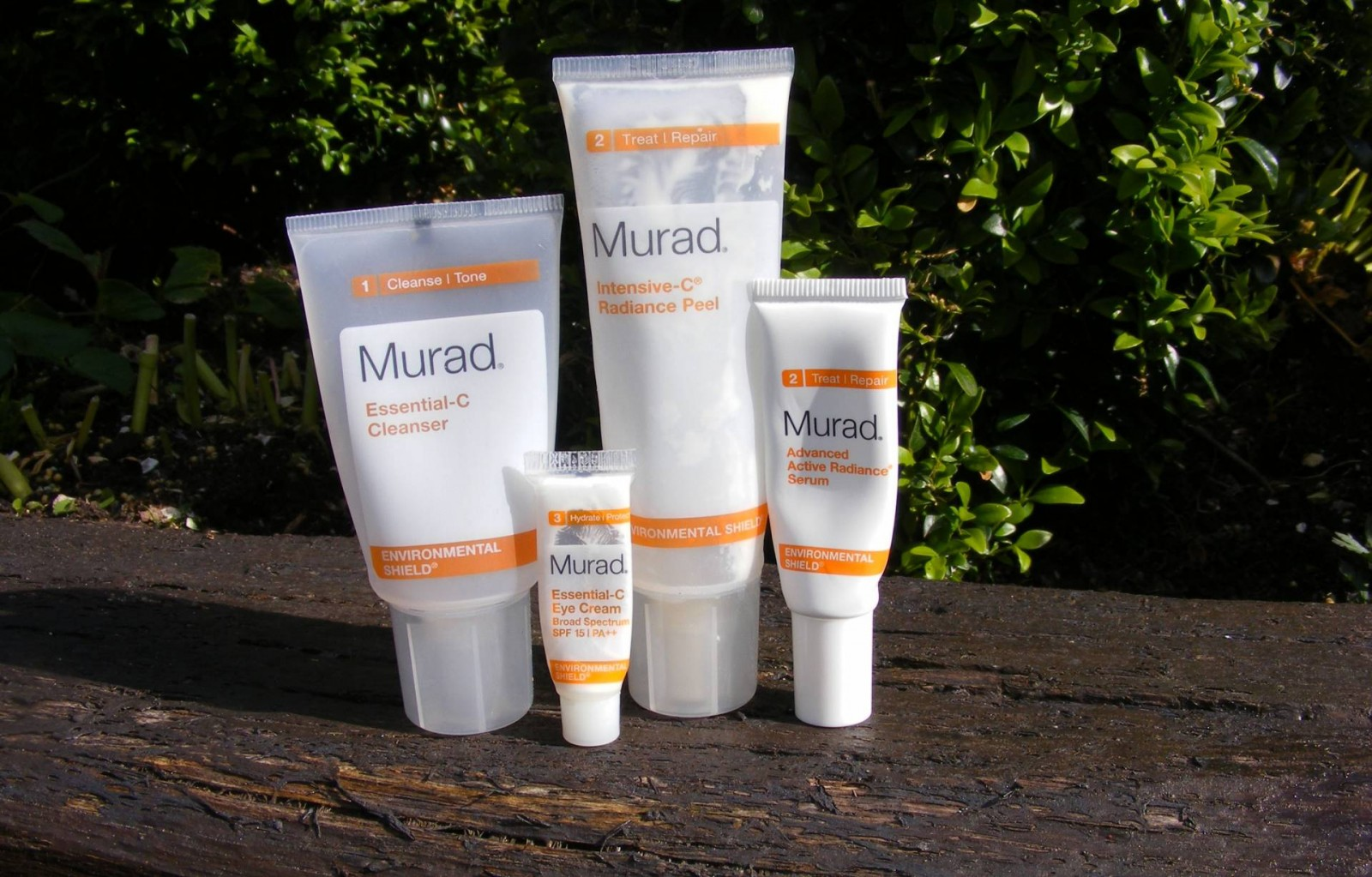 May empties Murad Essential C cleanser