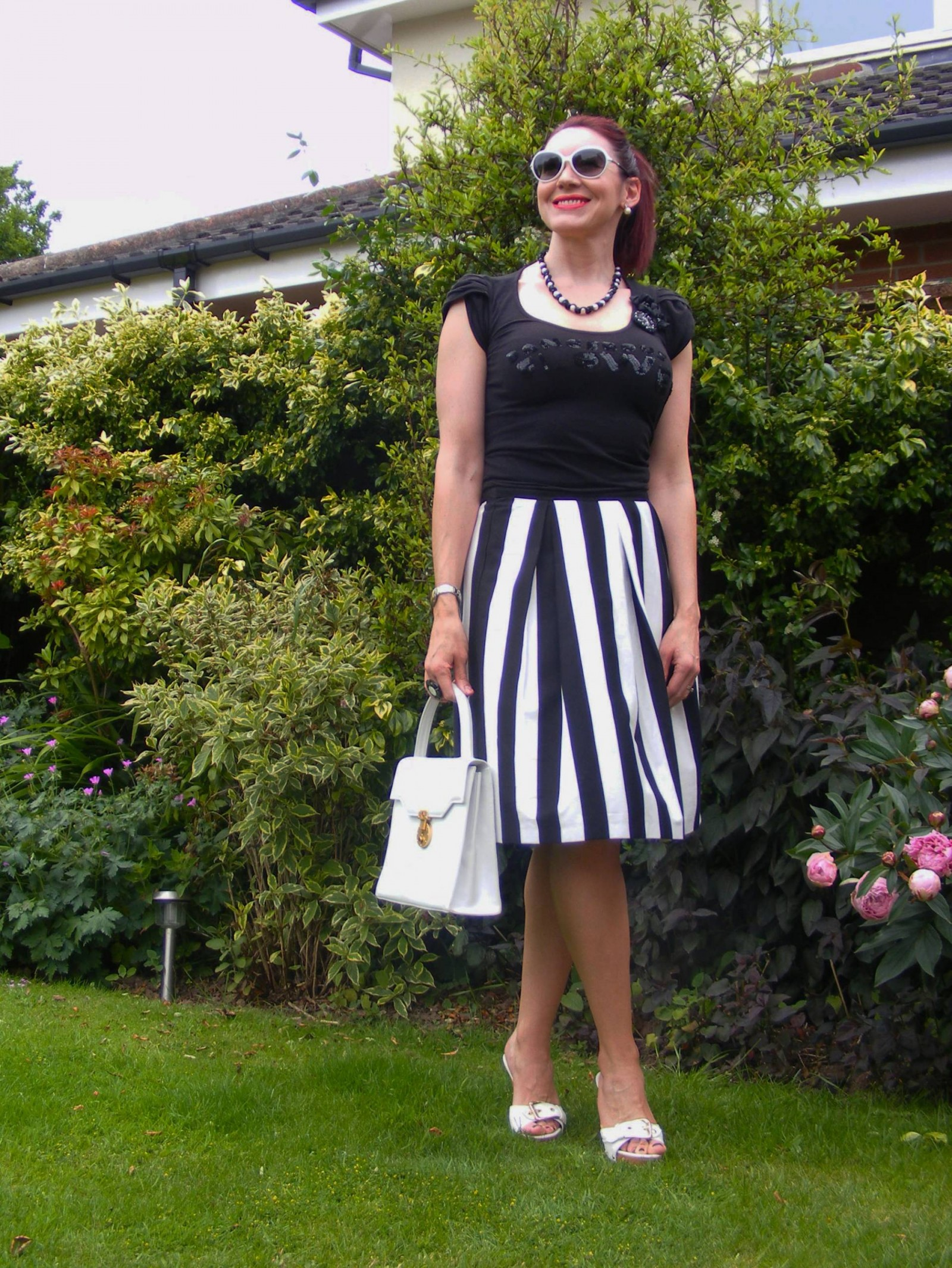 Principles monochrome skirt