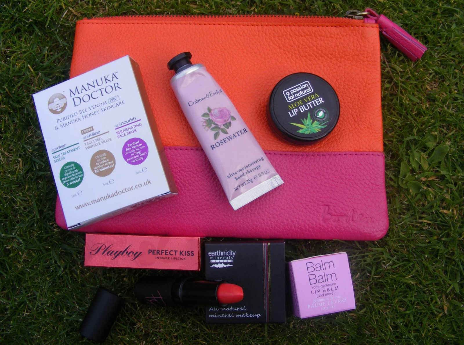 NW blogger goody bag