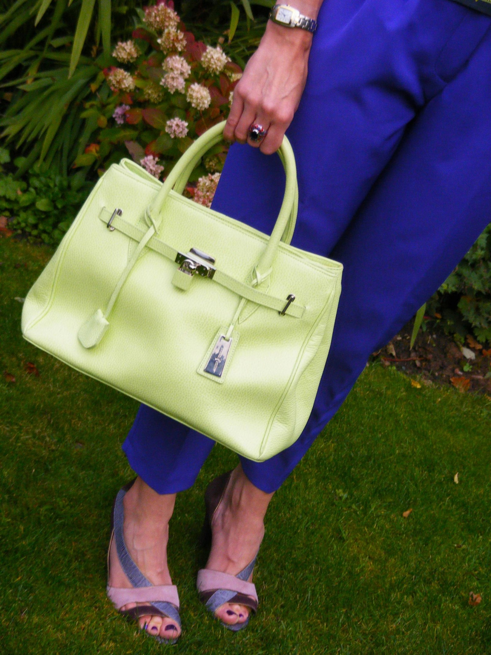 Jasper Conrad lime green bag