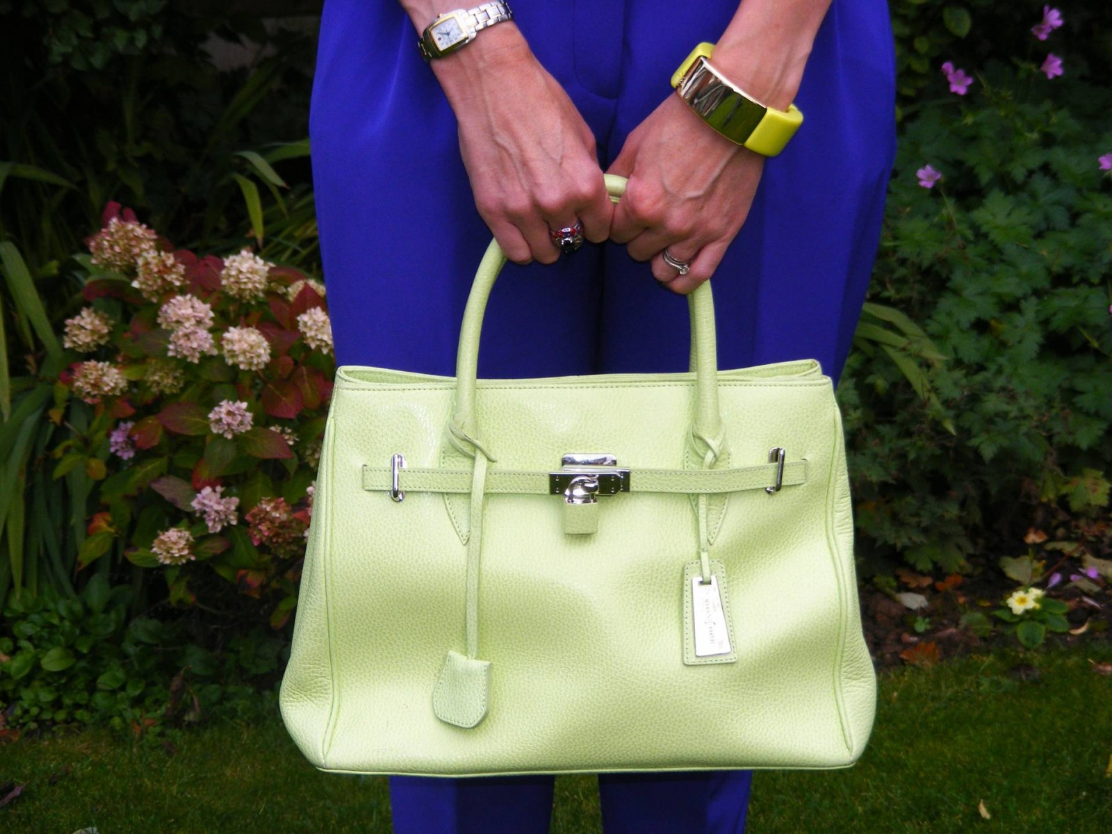 Lime green Jasper Conrad bag