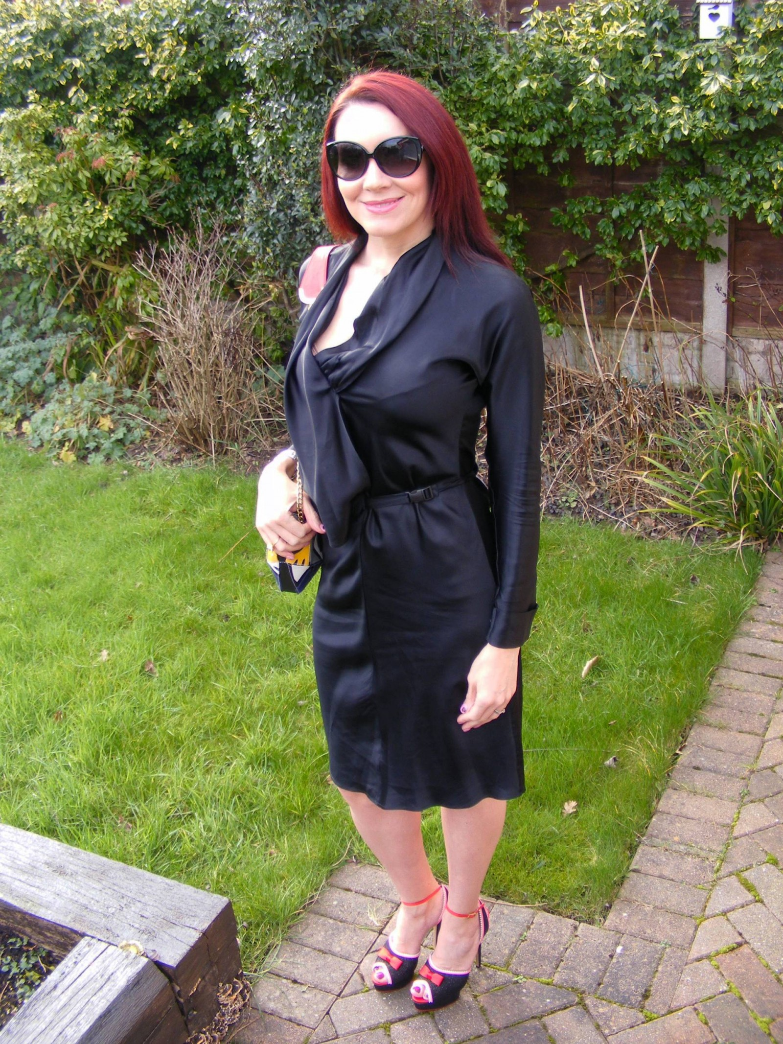 Clemens en August black belted dress