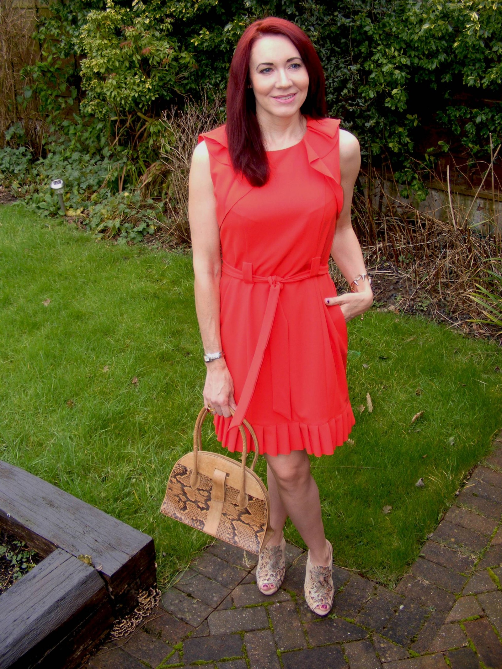 J by Jasper Conran red dress