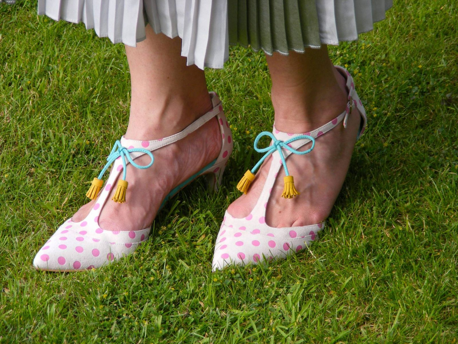 Boden spotted shoes