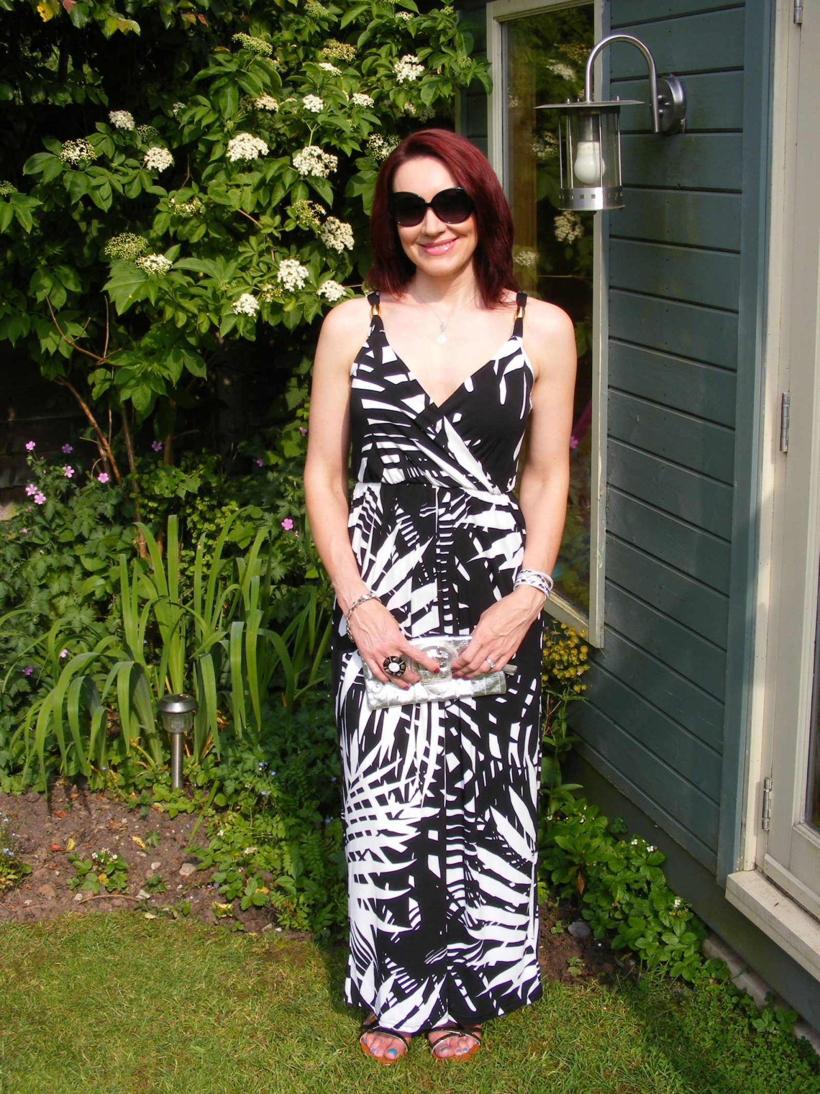 Lorraine Kelly JD Williams JD Williams Lorraine Kelly wrap Beach to Bar Maxi Dress