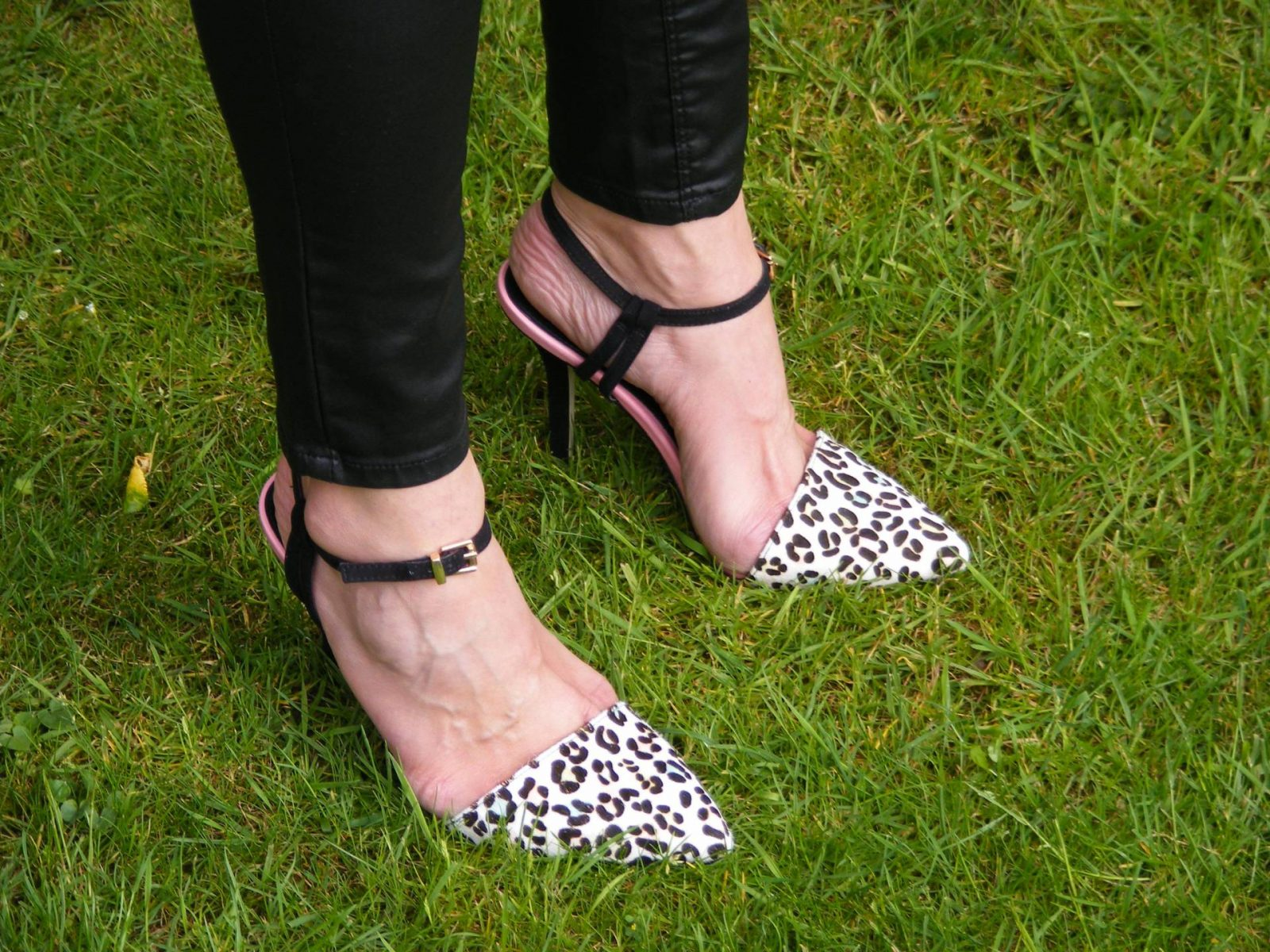 Miss KG leopard print shoes