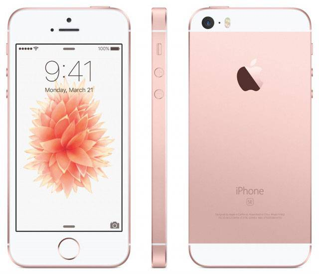Win an iPhone SE in Rose Gold