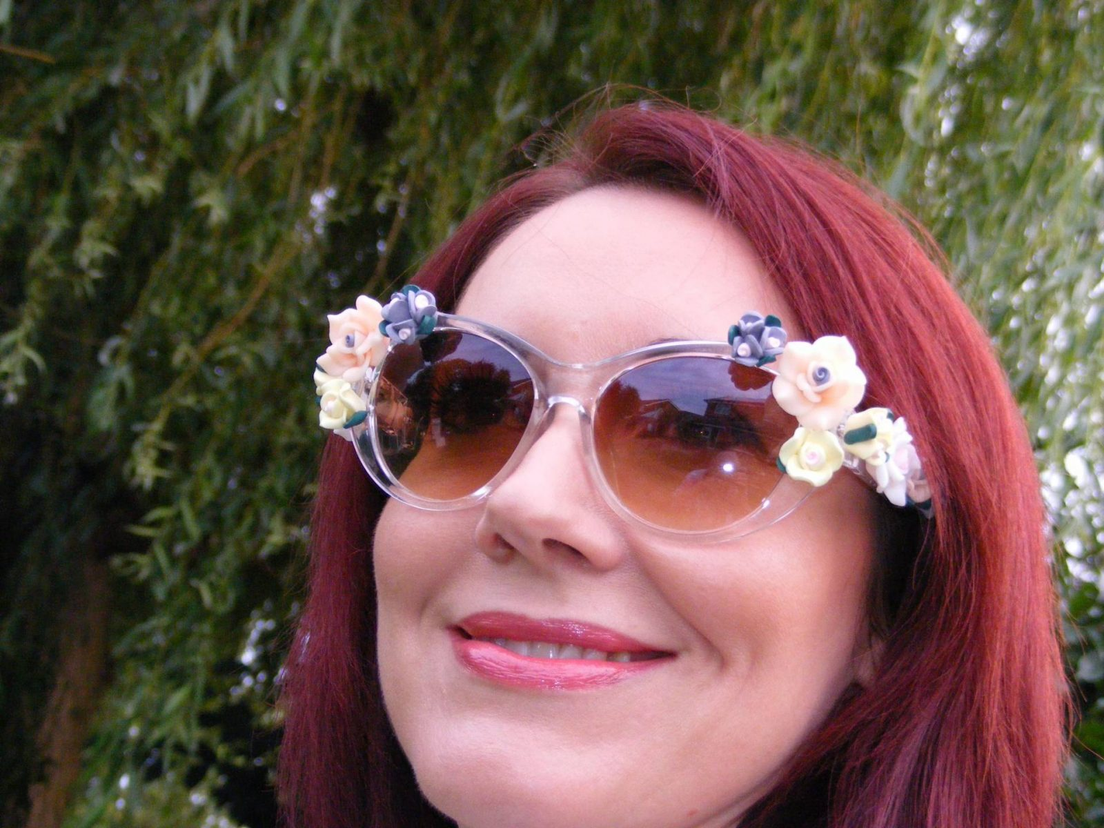 Asos flower sunglasses