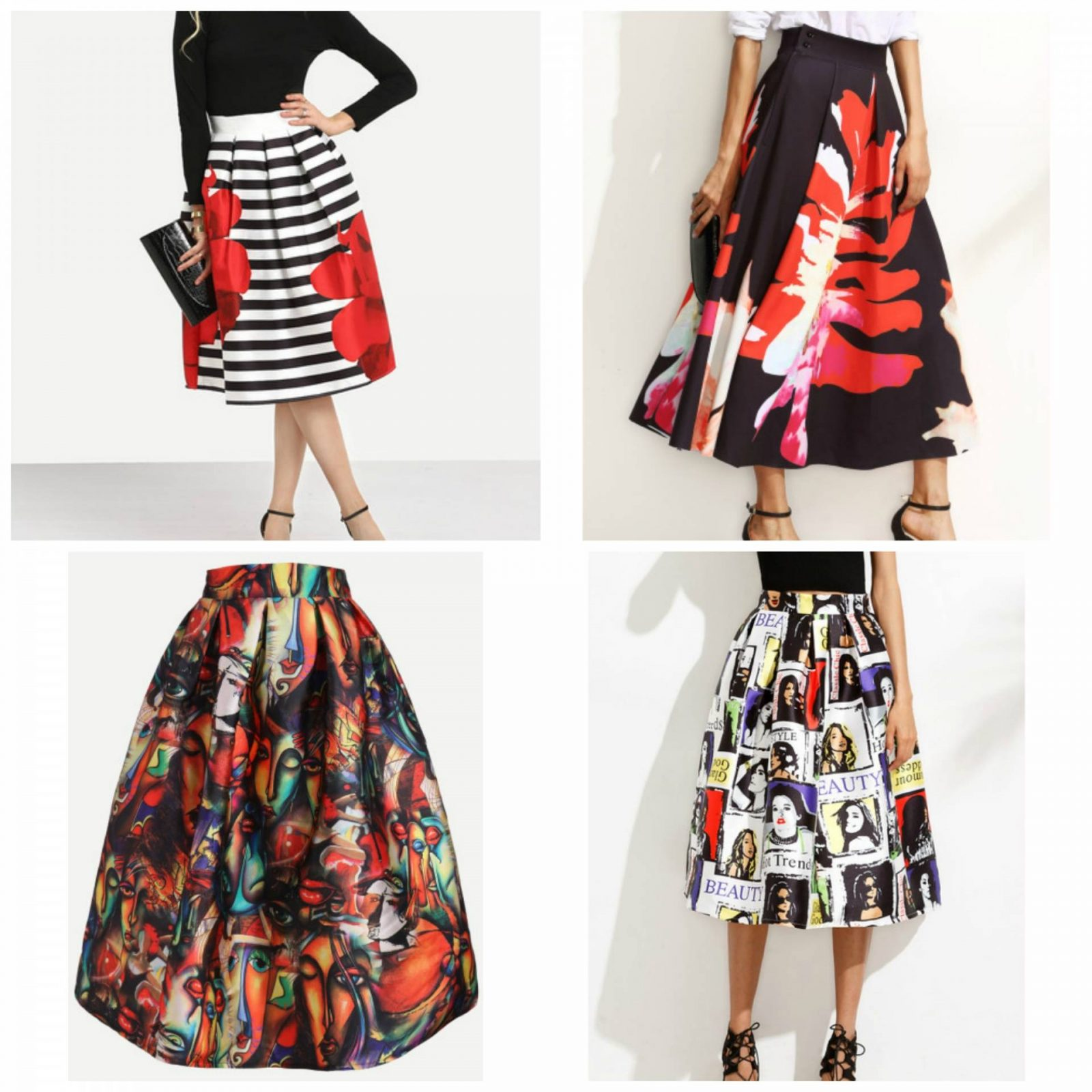 SheIn Wishlist skirts