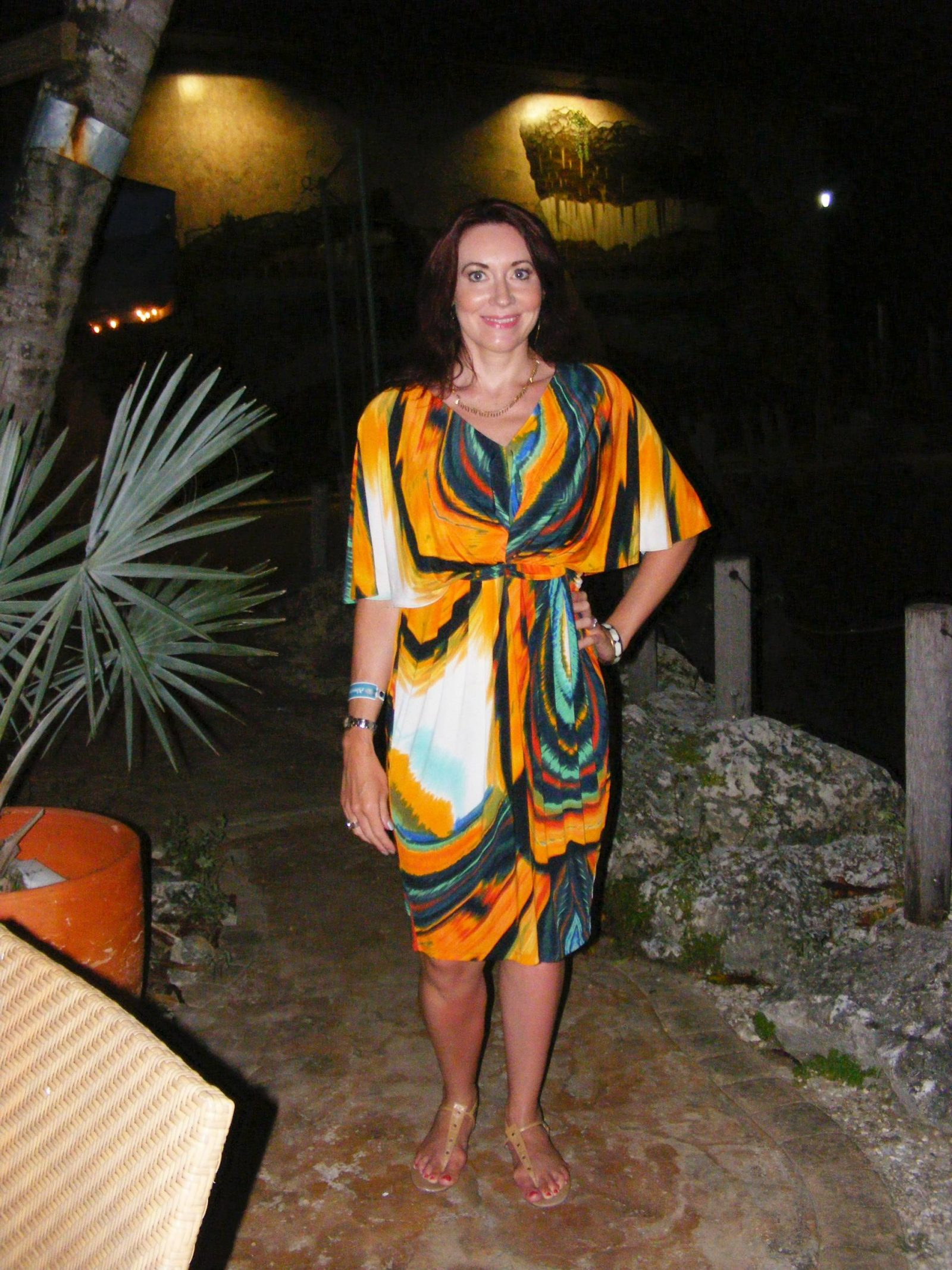 Barbados Holiday Wardrobe Marks and Spencer dress