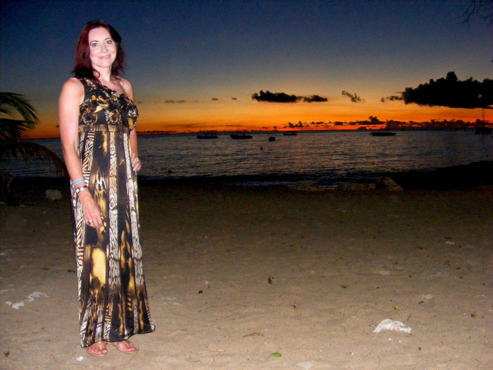 Barbados Holiday Wardrobe Marks and Spencer silk maxi dress