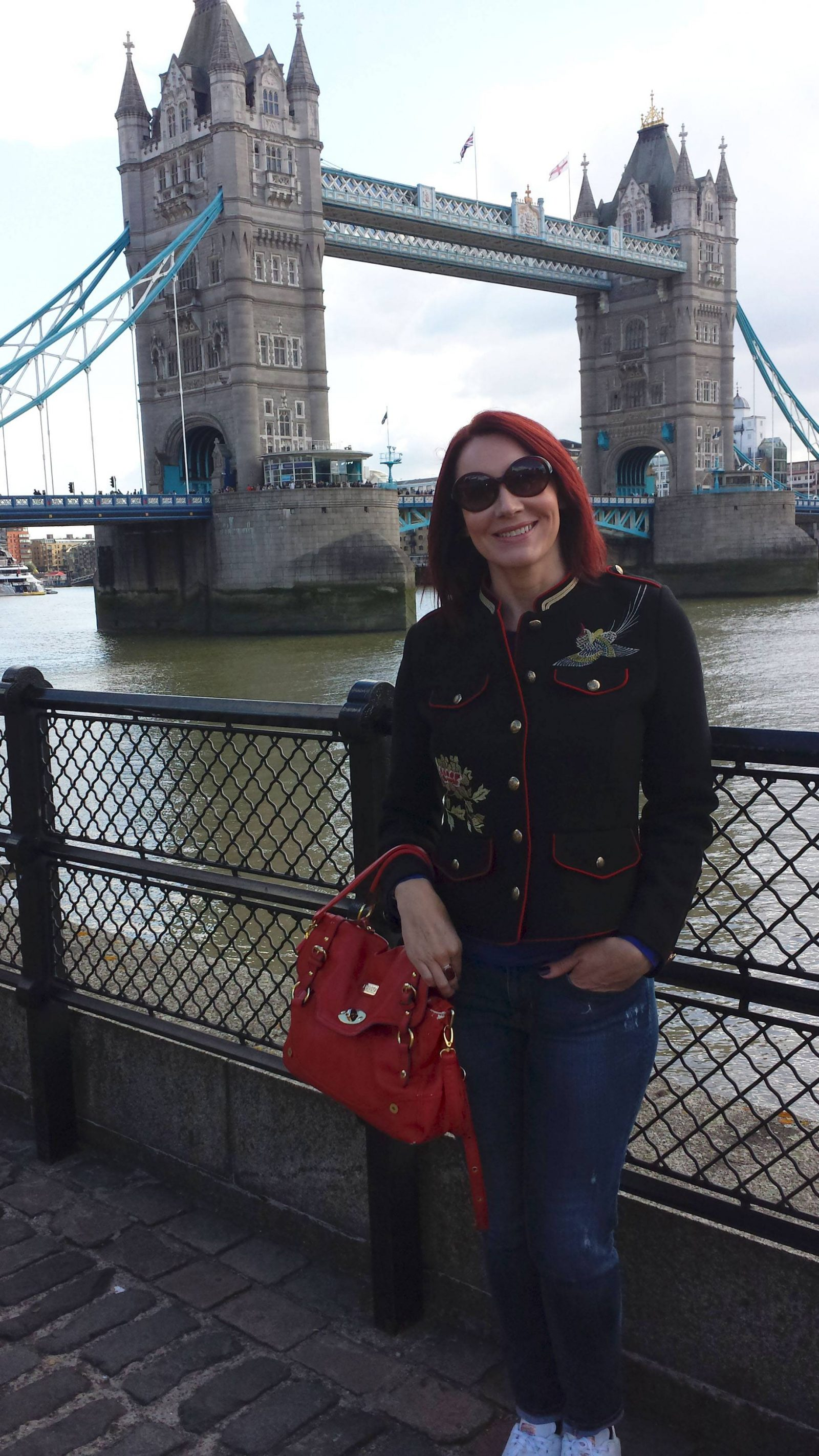 Weekend in London zara-jacket-london-bridge