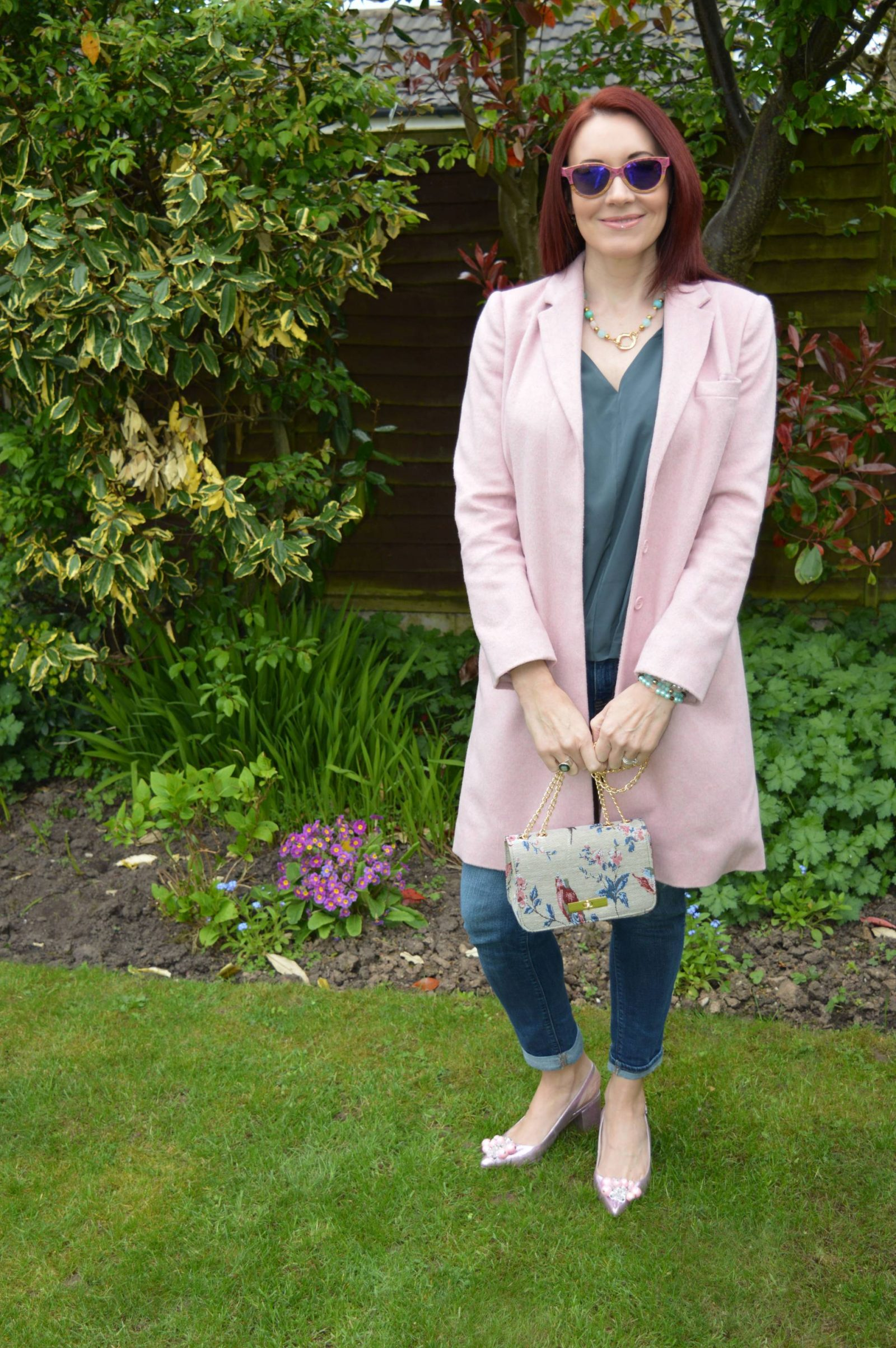 Finding the perfect pink coat