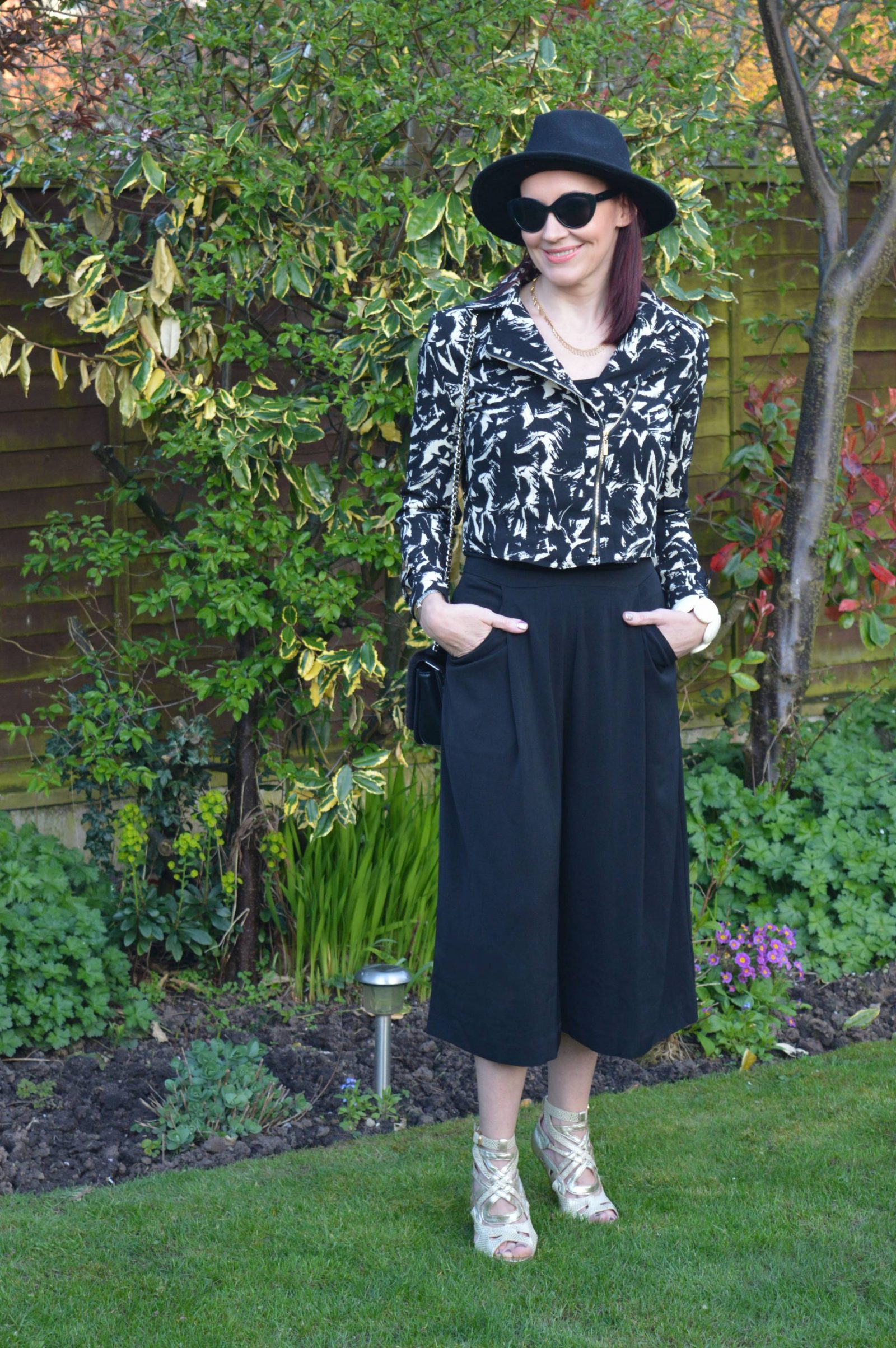 Lightweight Biker Jacket and Culottes