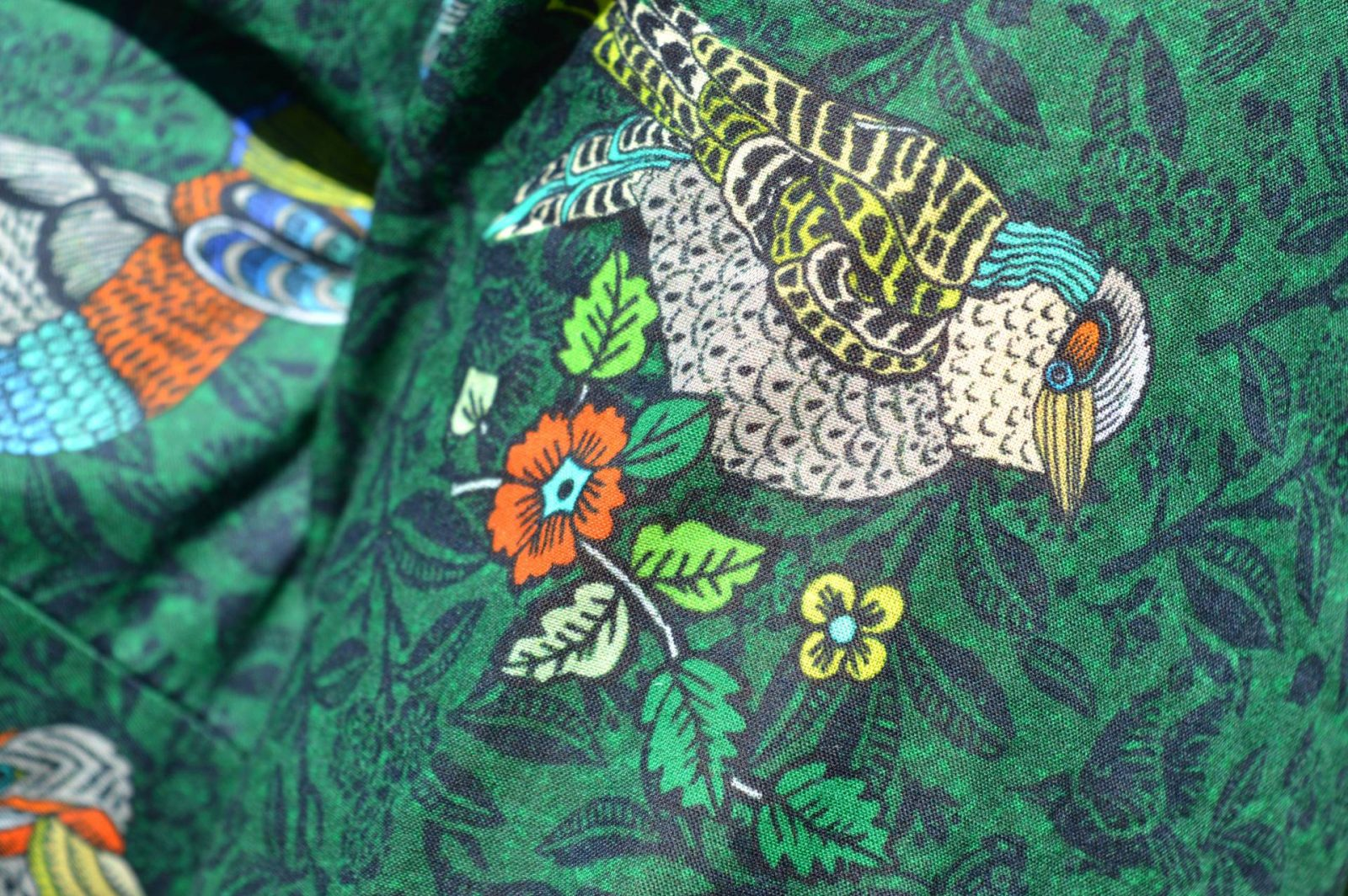 Laura Ashley Enchanted Birdies Print Blouse and Navy Trousers