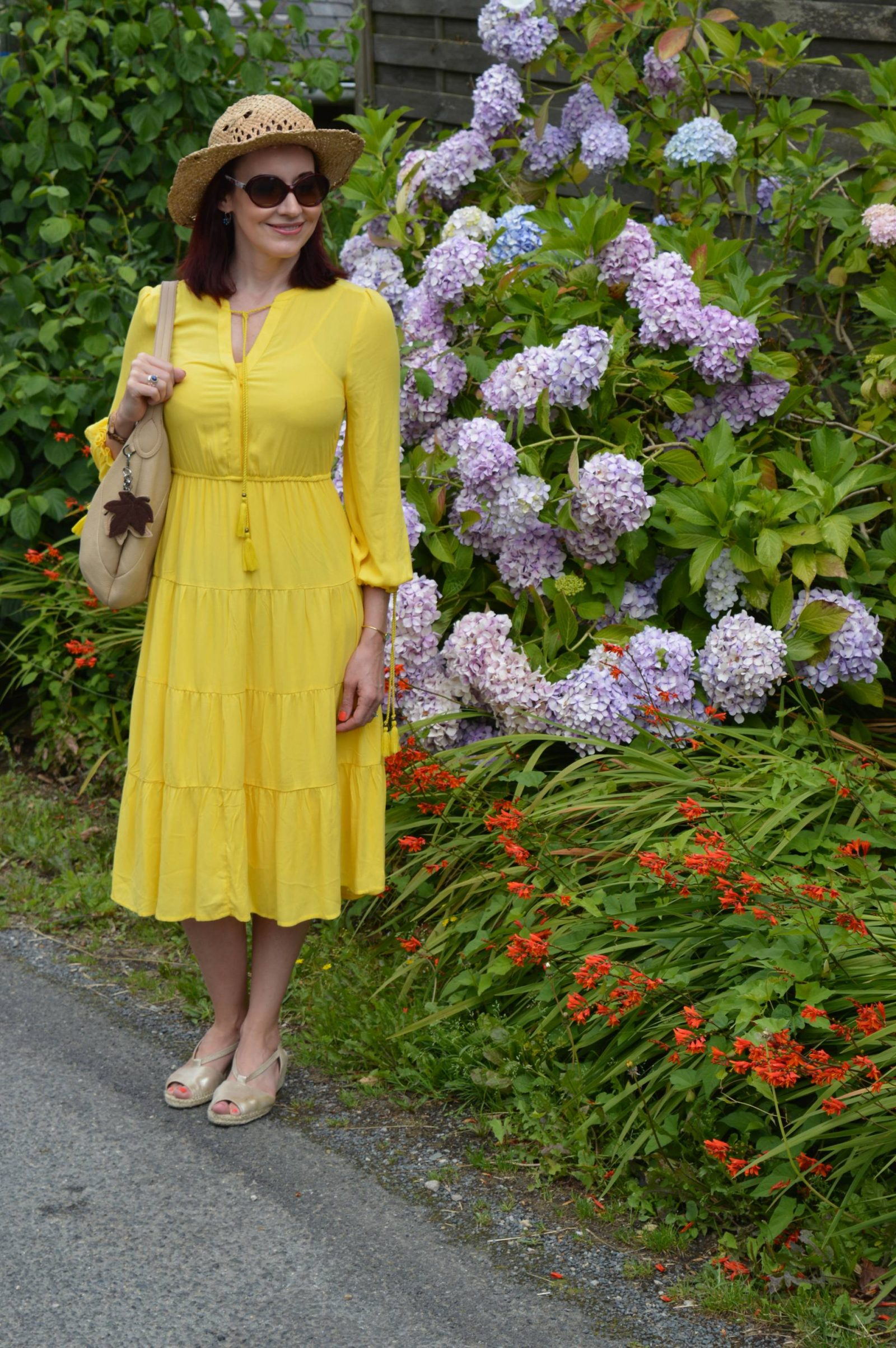 Marks an Spencer Sunshine Yellow Dress in Brittany