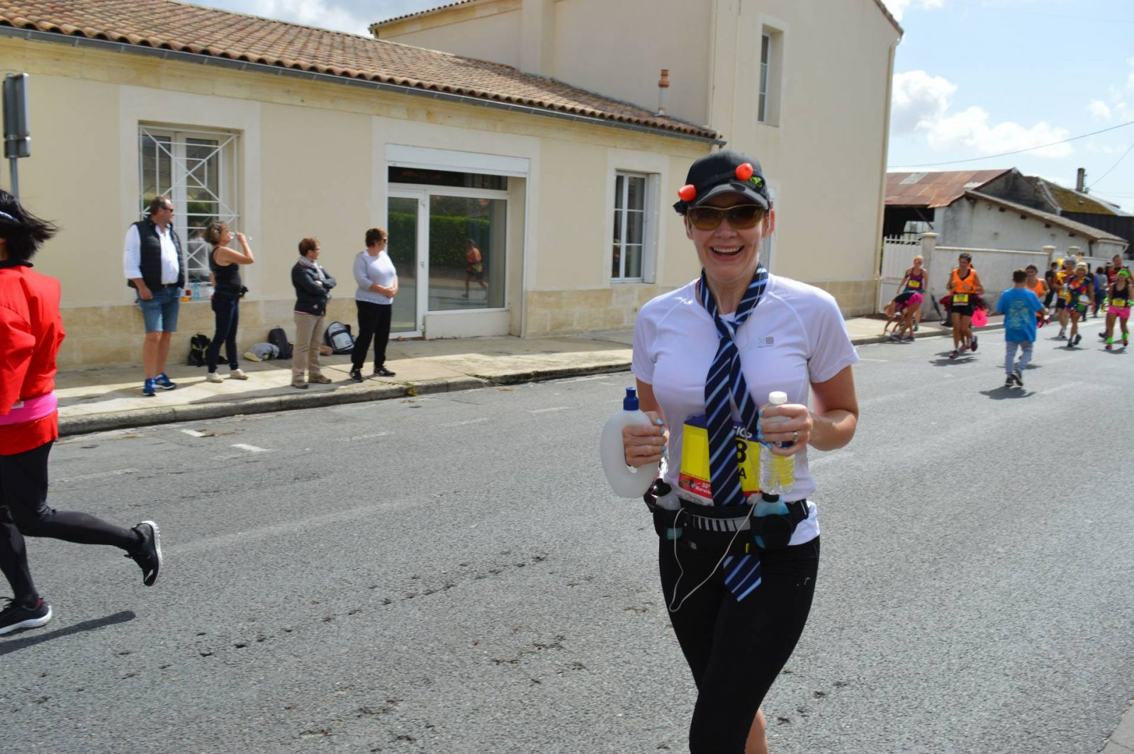 Running the Marathon du Medoc