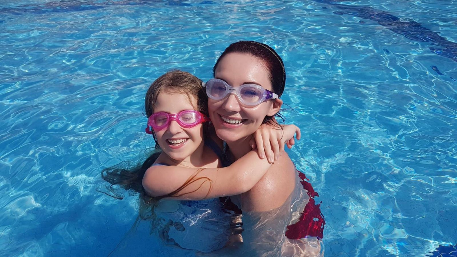 Facing My Fears in the Water, Vorgee goggles