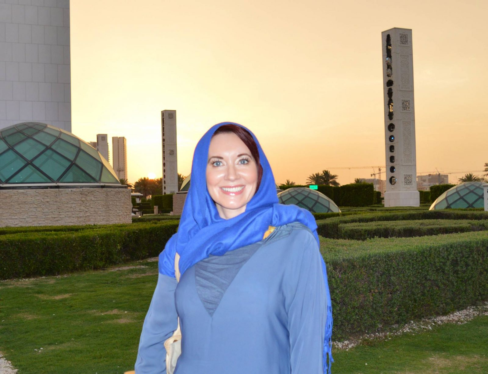 Visiting the Louvre Abu Dhabi and Sheikh Zayed Grand Mosque, sunset at Sheikh Zayed mosque
