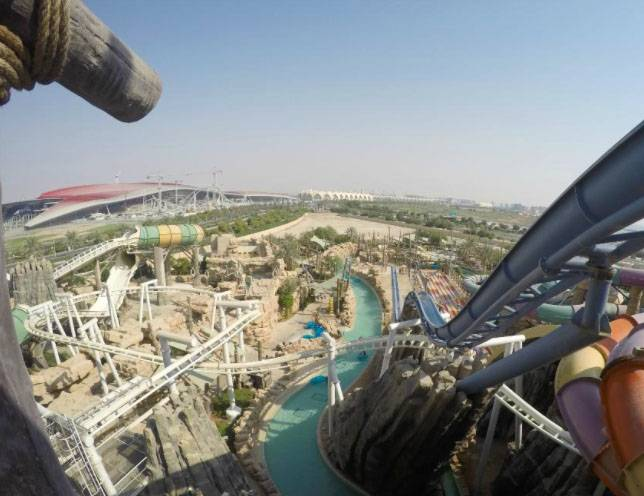 Facing My Fears in the Water, Yas Waterworld Abu Dhabi