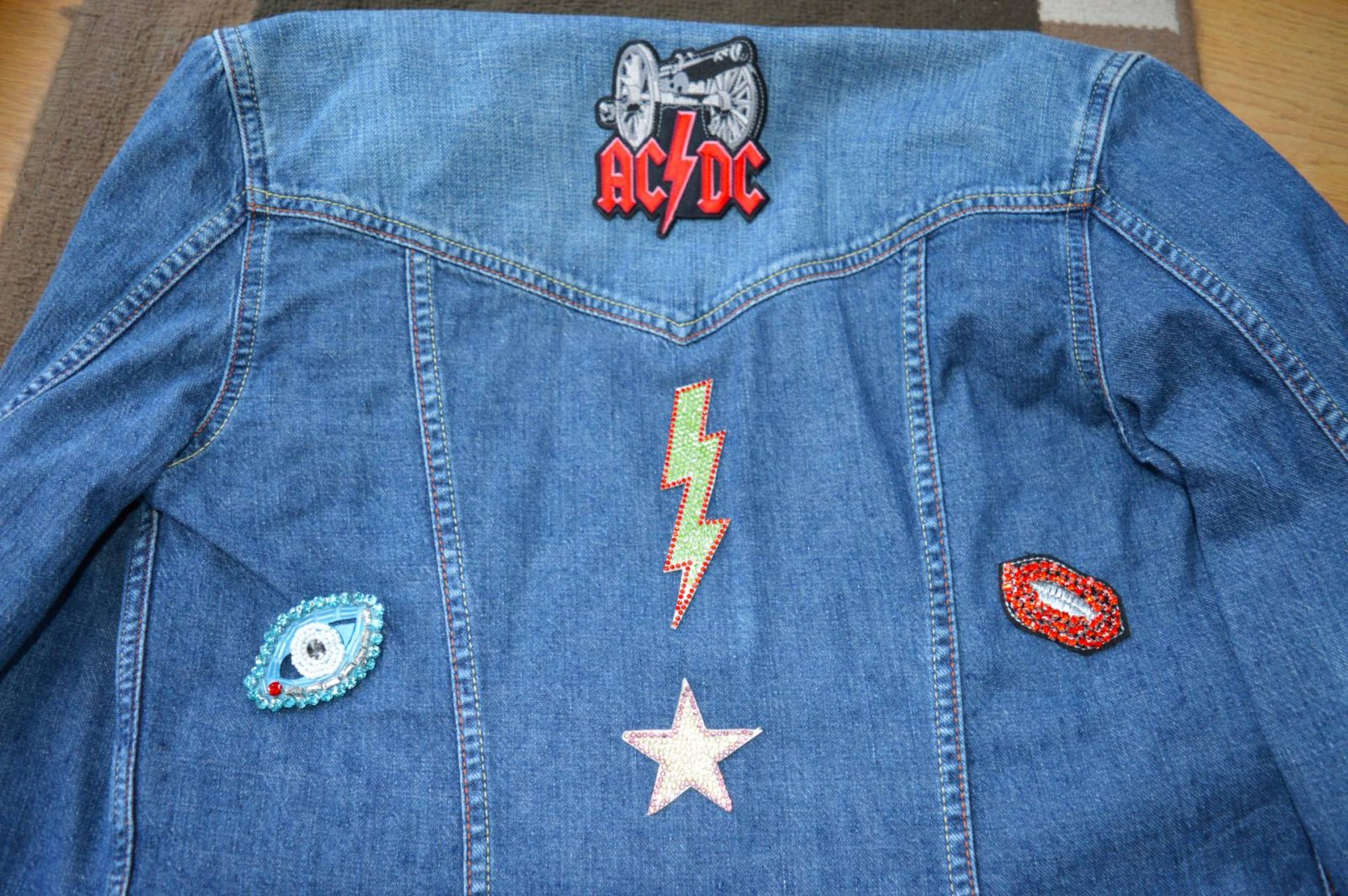 How to customise a denim jacket