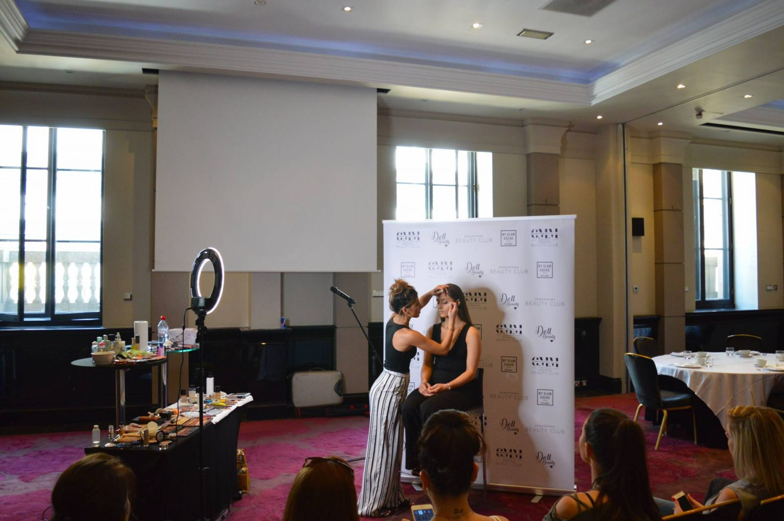 Celebrity Mua Masterclass in Manchester, Amy's makeup box