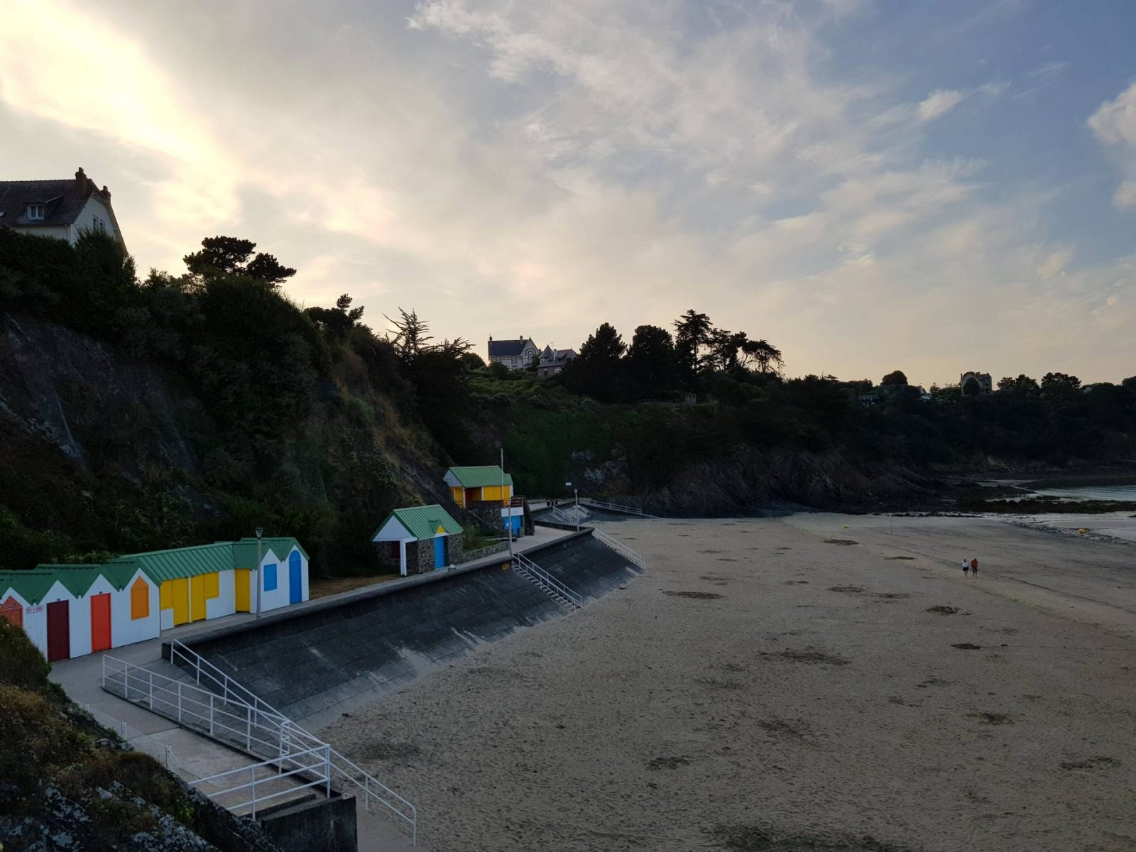 A wonderful week in Brittany + Sunday Reflections link up, beach huts in Binic