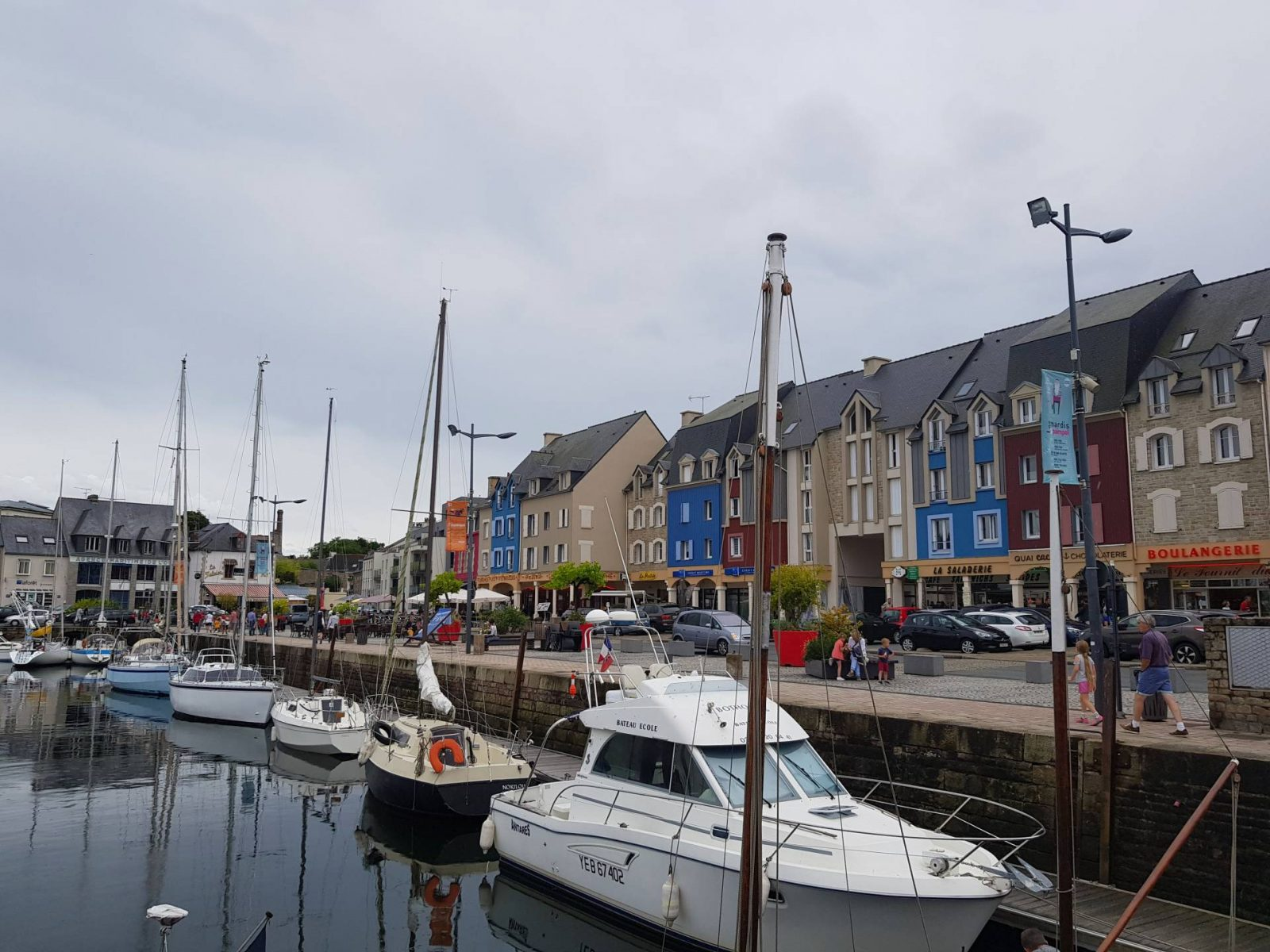 A wonderful week in Brittany + Sunday Reflections link up, boats in Paimpol harbour