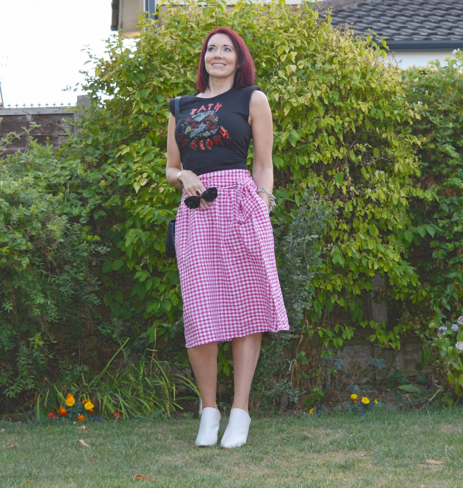 Style Not Age July Challenge - Not Square with Gingham