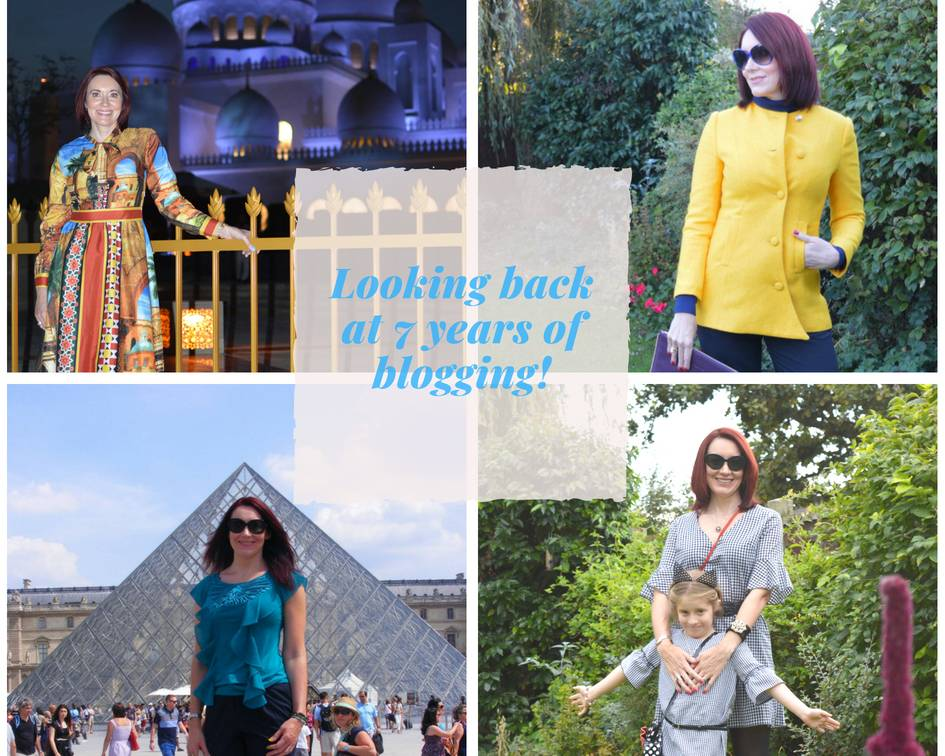 Looking back on seven years of blogging + link up