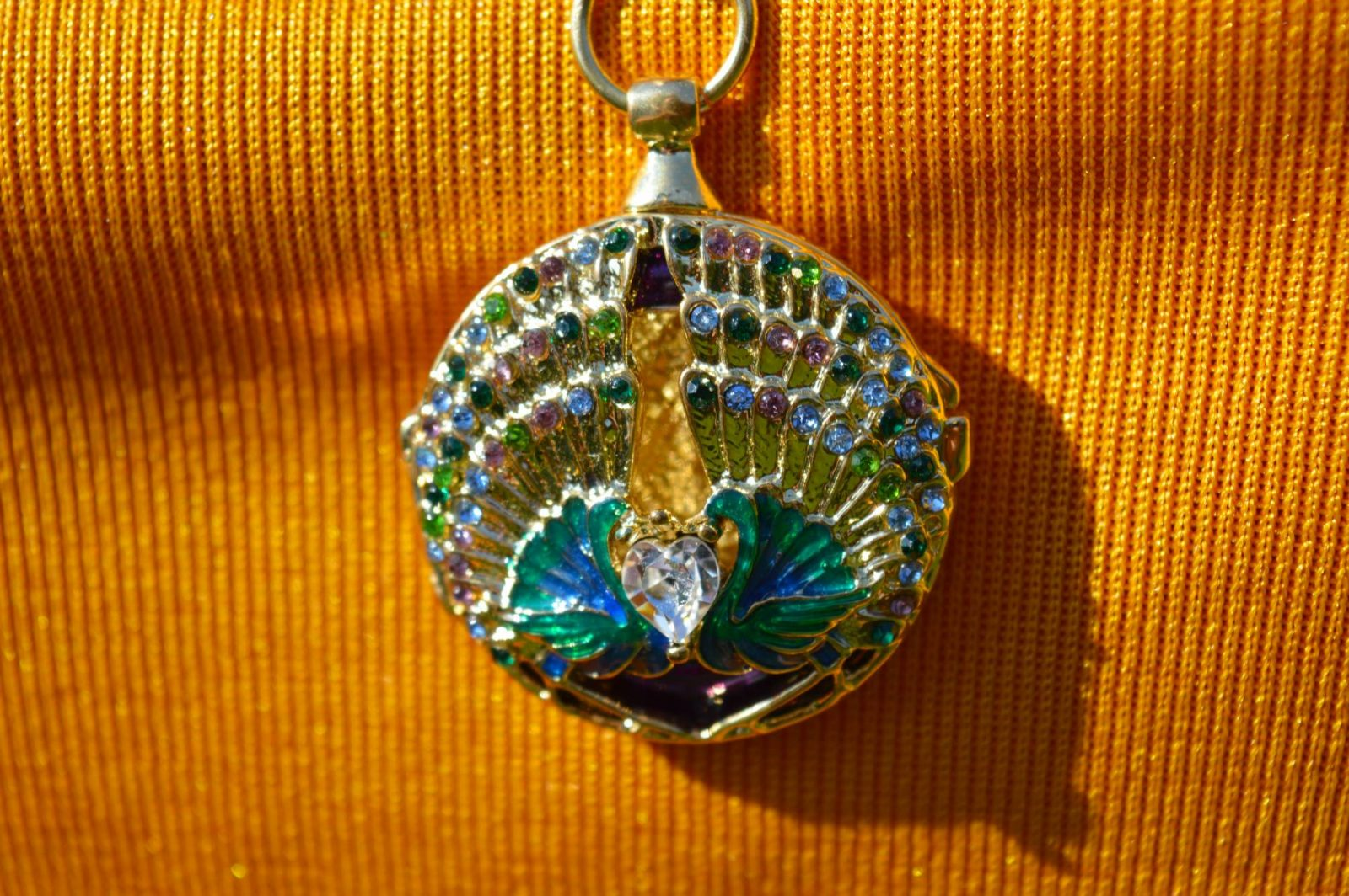 Pia jewellery peacock necklace