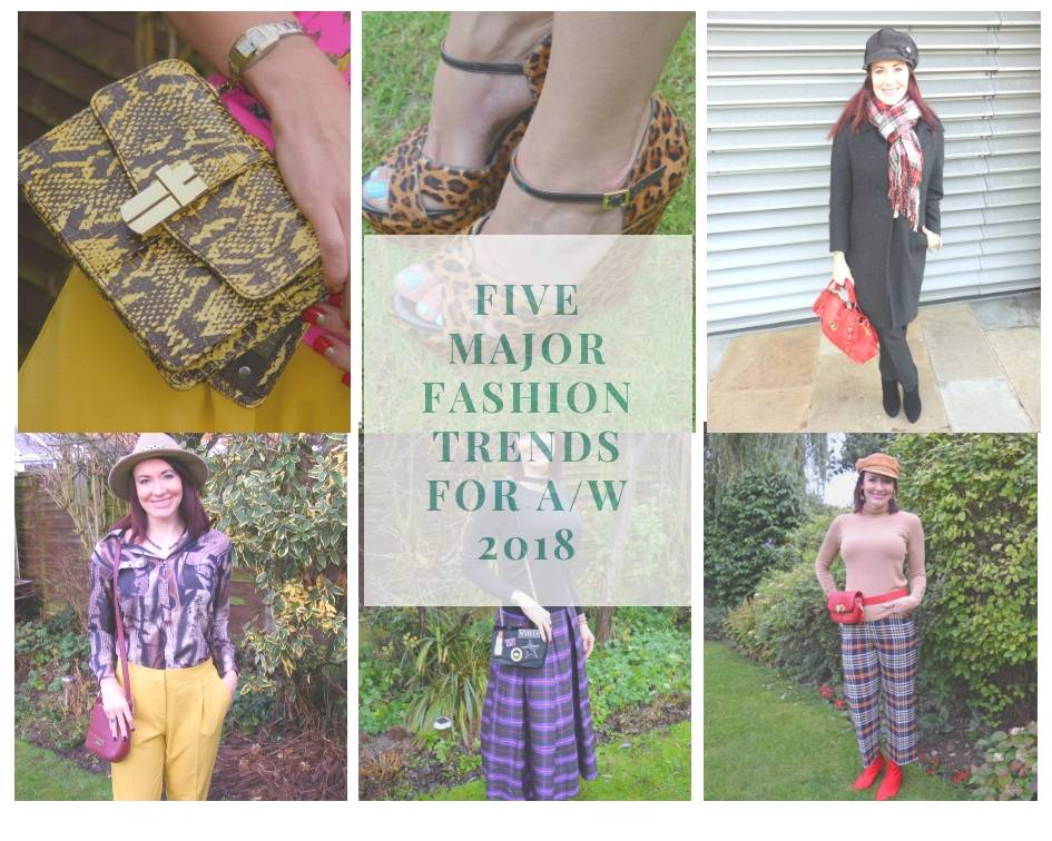 Five major fashion trends for A/W 2018