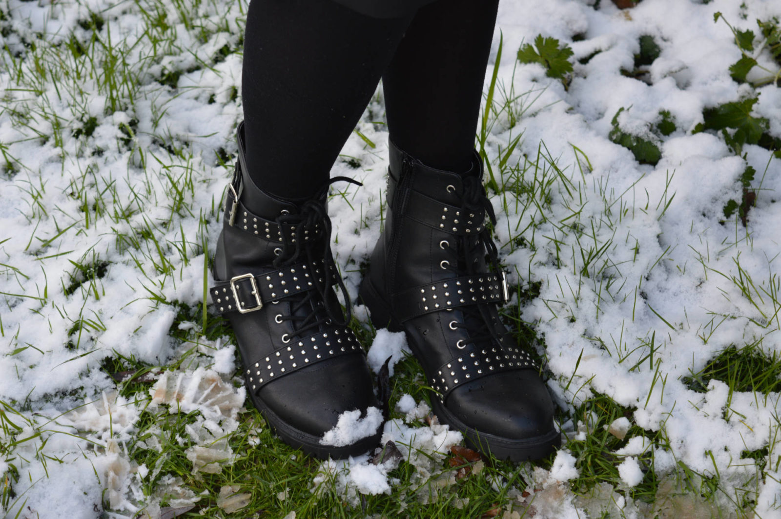 Match Made in Seven: Punk, PrettyLittleThing studded biker boots