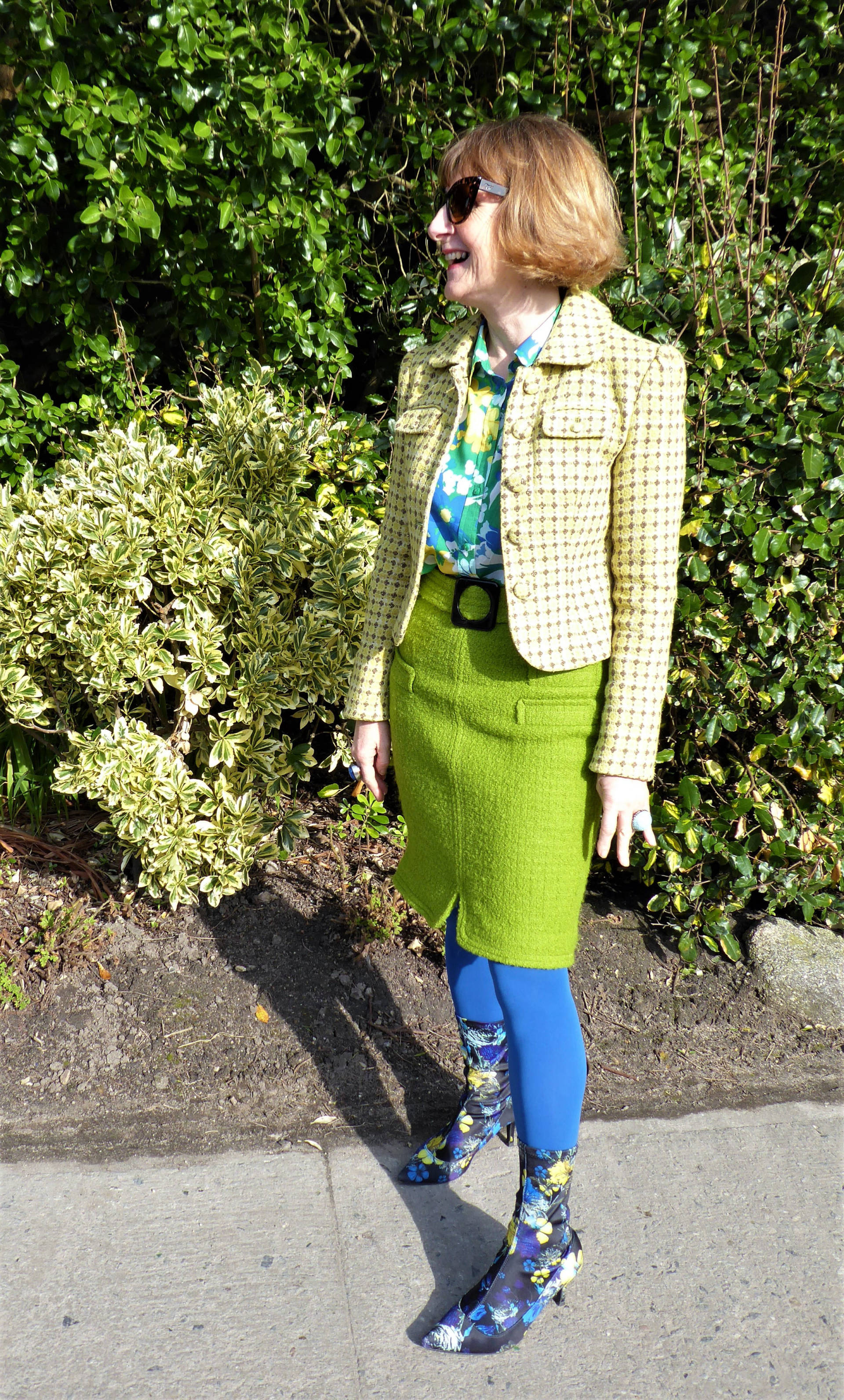 Style Not Age: Spring Greens