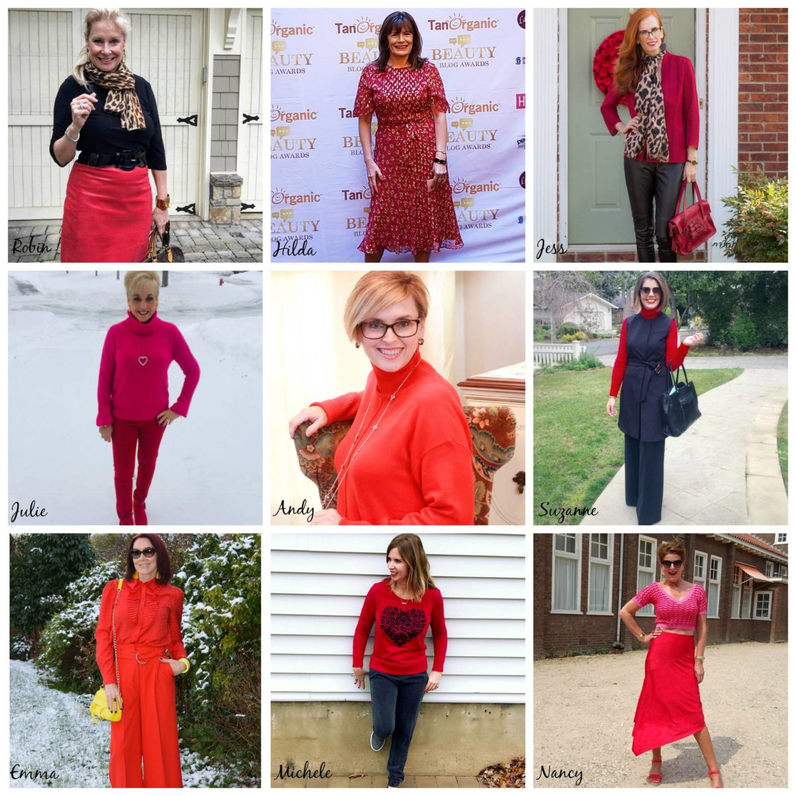 Stylish Monday - Ladies in Red