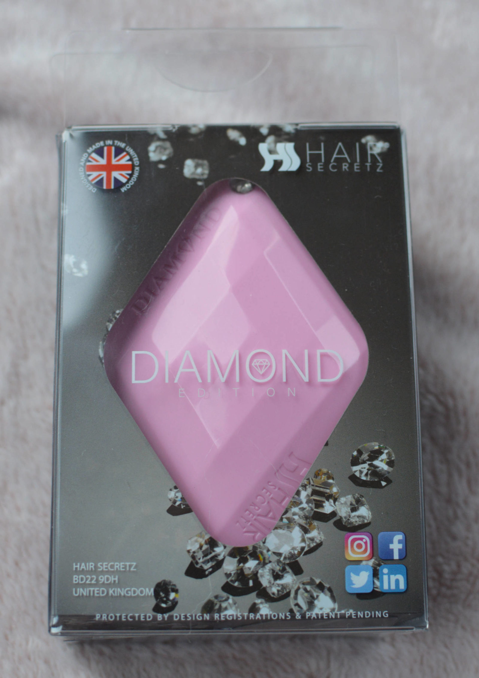 Hair Podz Diamond Brush