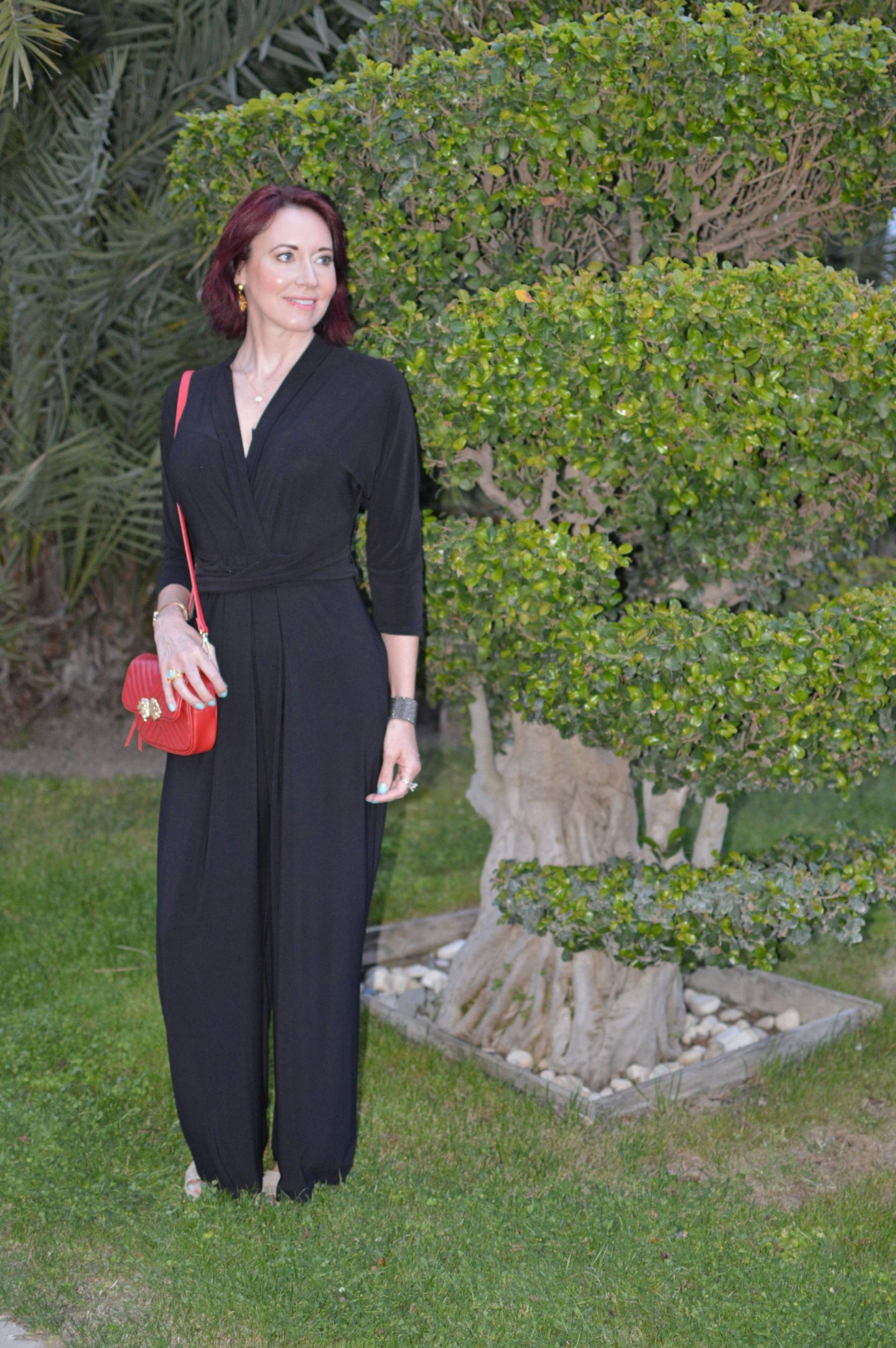 Match Made in Seven: Best of British, Phase Eight black jumpsuit