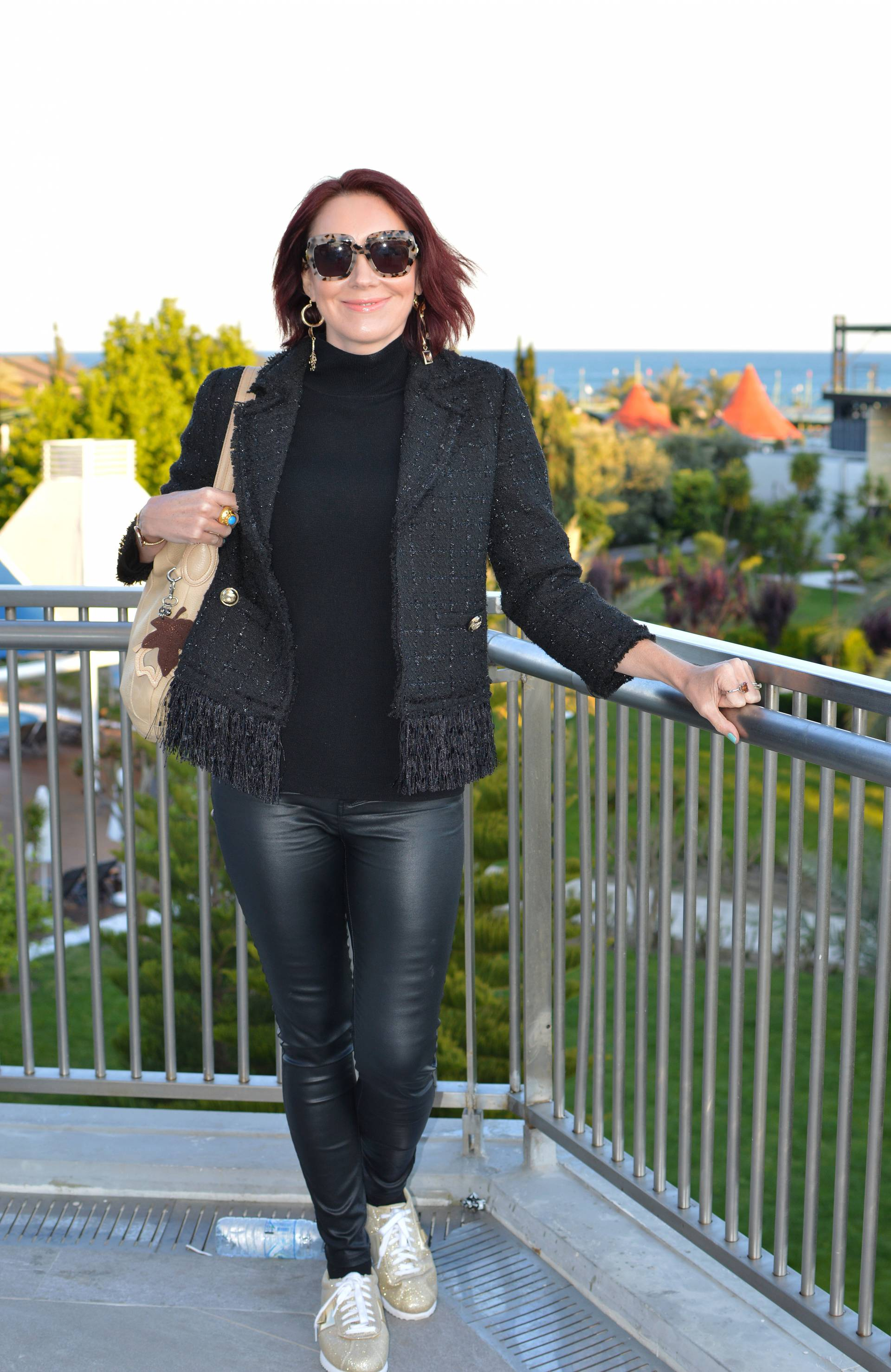A Stylish Outfit For Travelling + link up