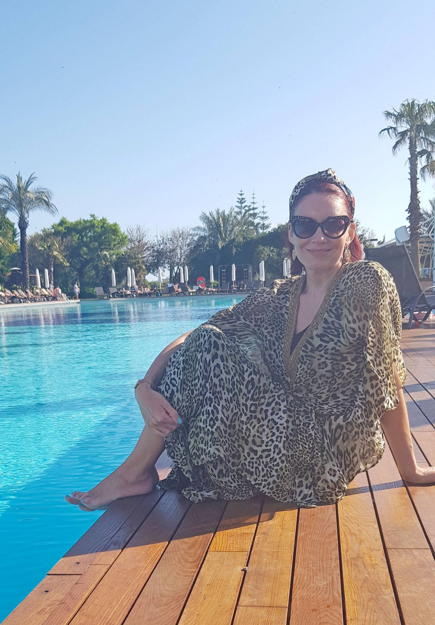 Travel Essentials, Miss Tunica leopard print tunic