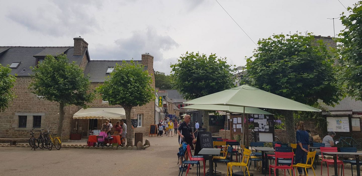 Summer Trip to Brittany, Le Bourg, Bréhat