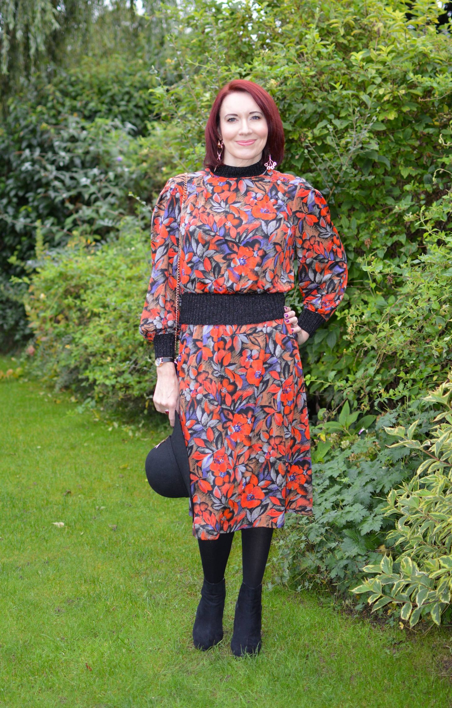 Style Not Age: Autumn Florals For September