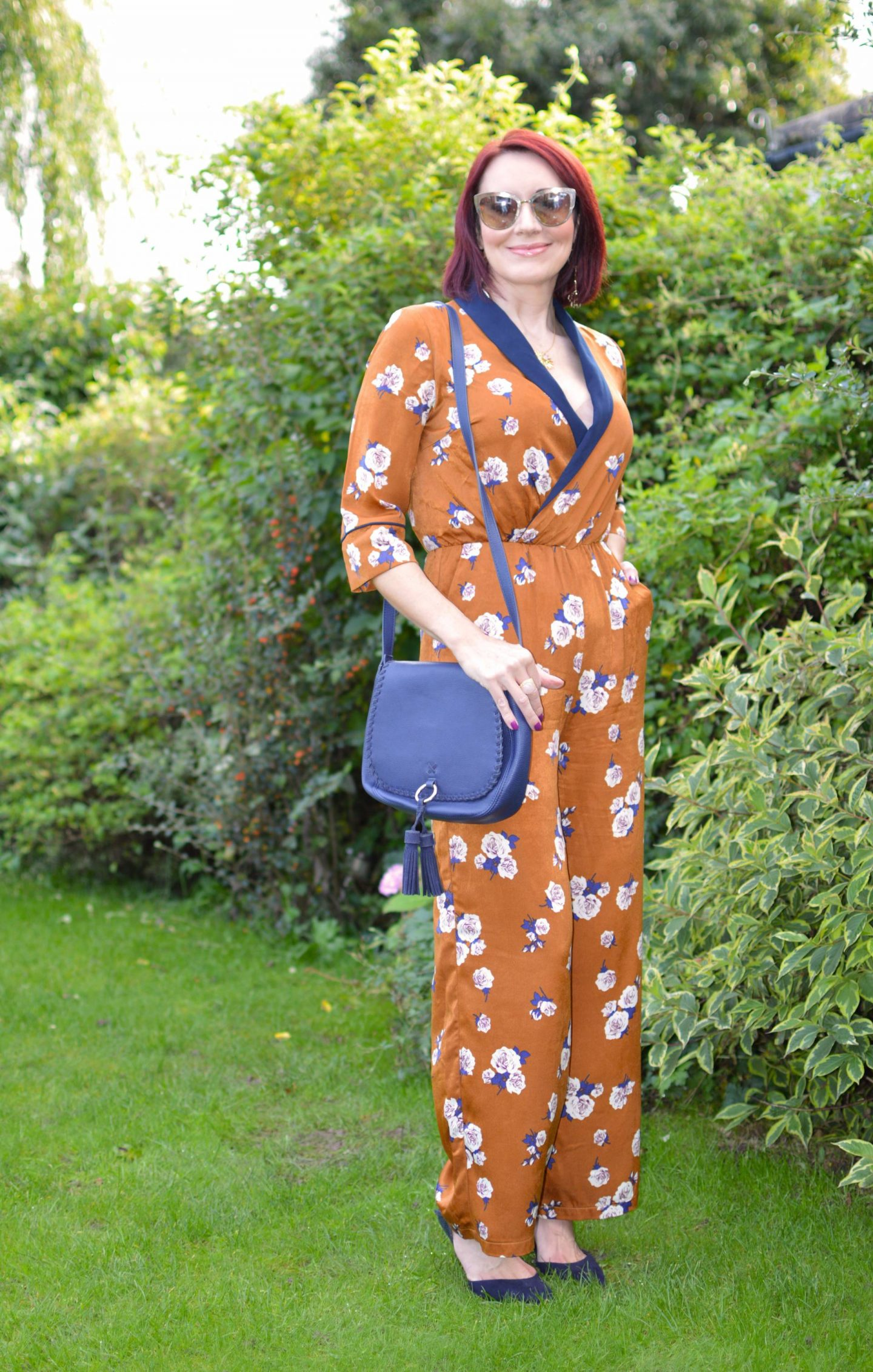 Mummy and Me Jumpsuits , Paisie floral print jumpsuit
