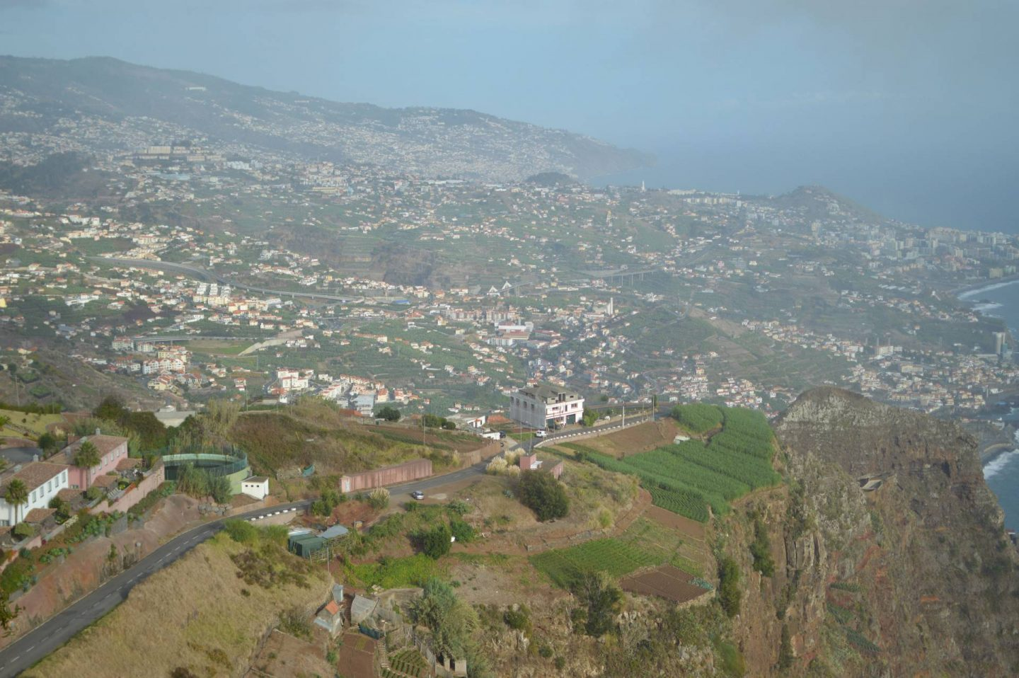 view from Cabo Girão skywalk