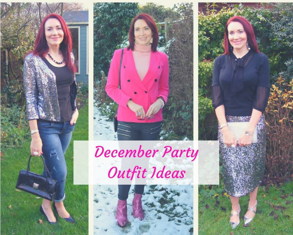 Match Made in Seven - December Party Outfit Ideas