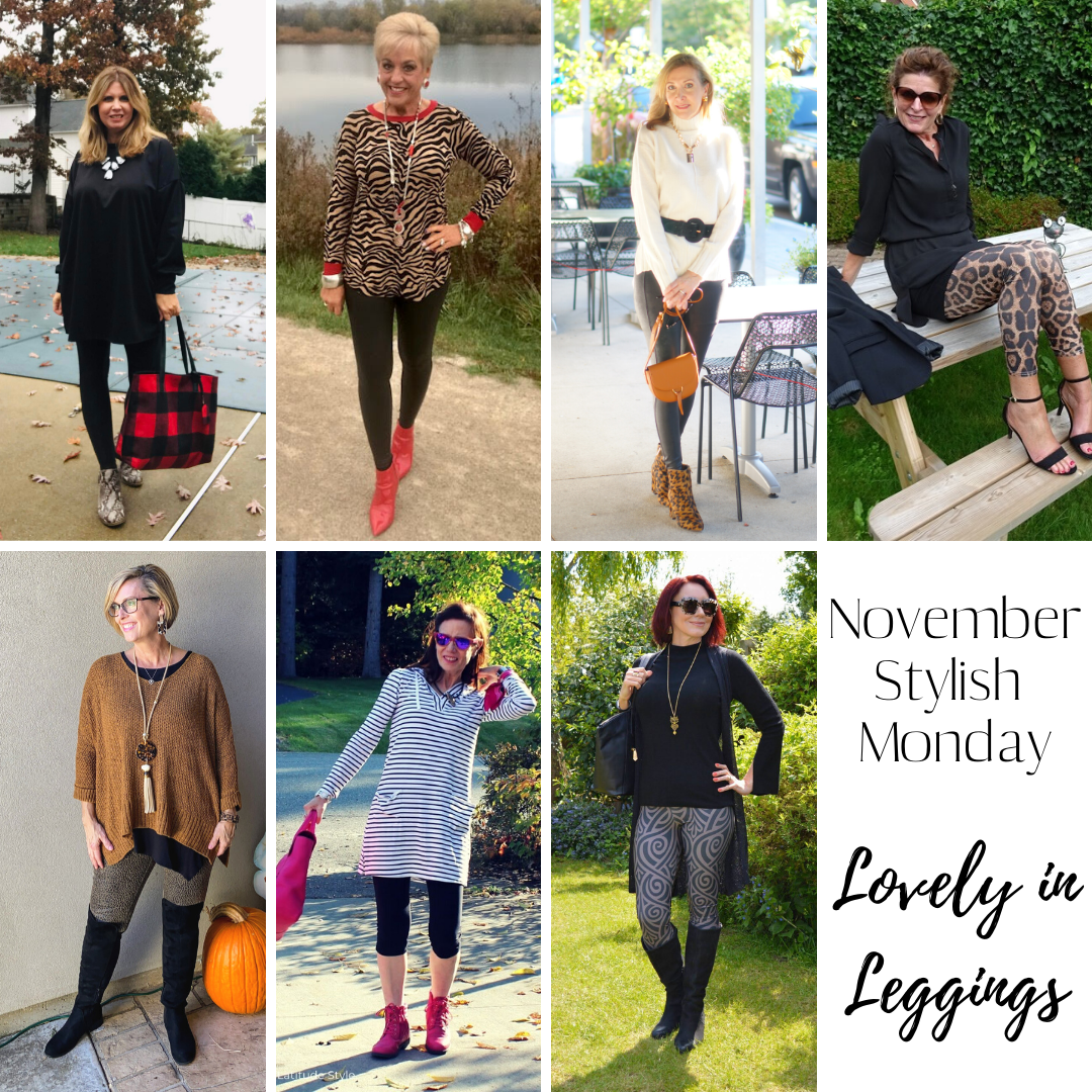 Lovely in Leggings - November Stylish Monday link up